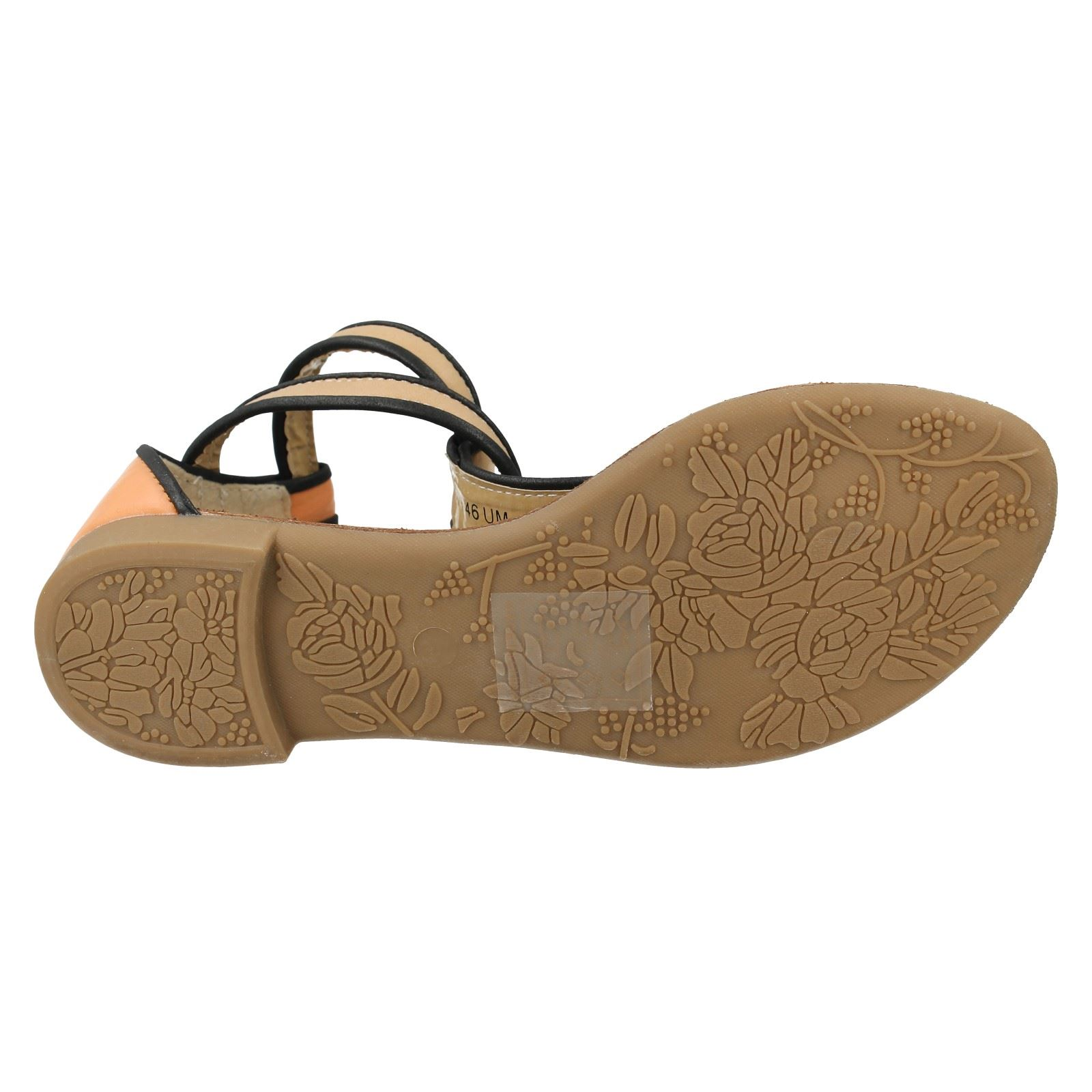 Damas Savannah Toe Post Sandalias De Estilo-L6746