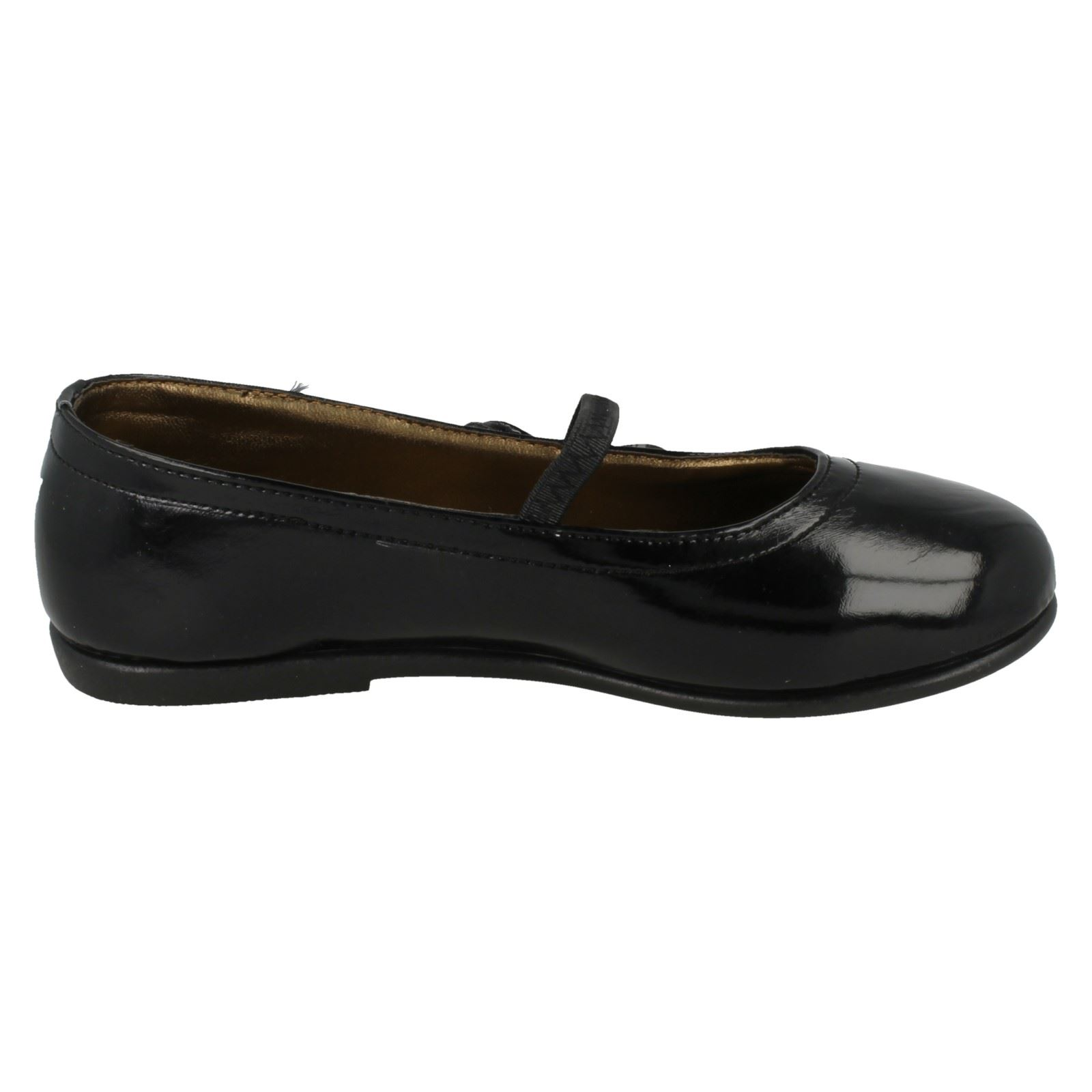 Zapatos de chicas Lugar en Sintético Escuela H2129 Etiqueta ~ K