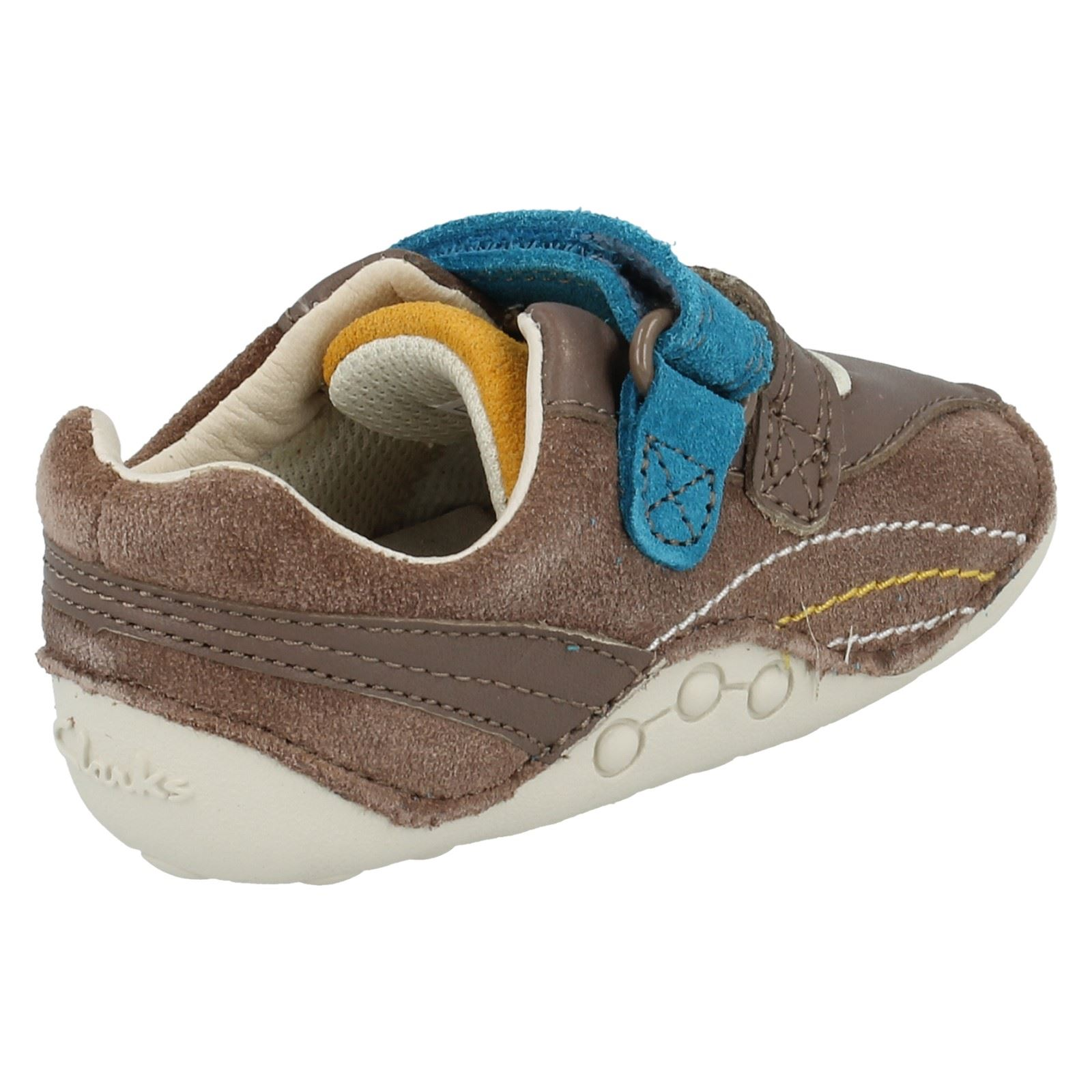 Boys Clarks First Shoes Style - Tiny Dexton