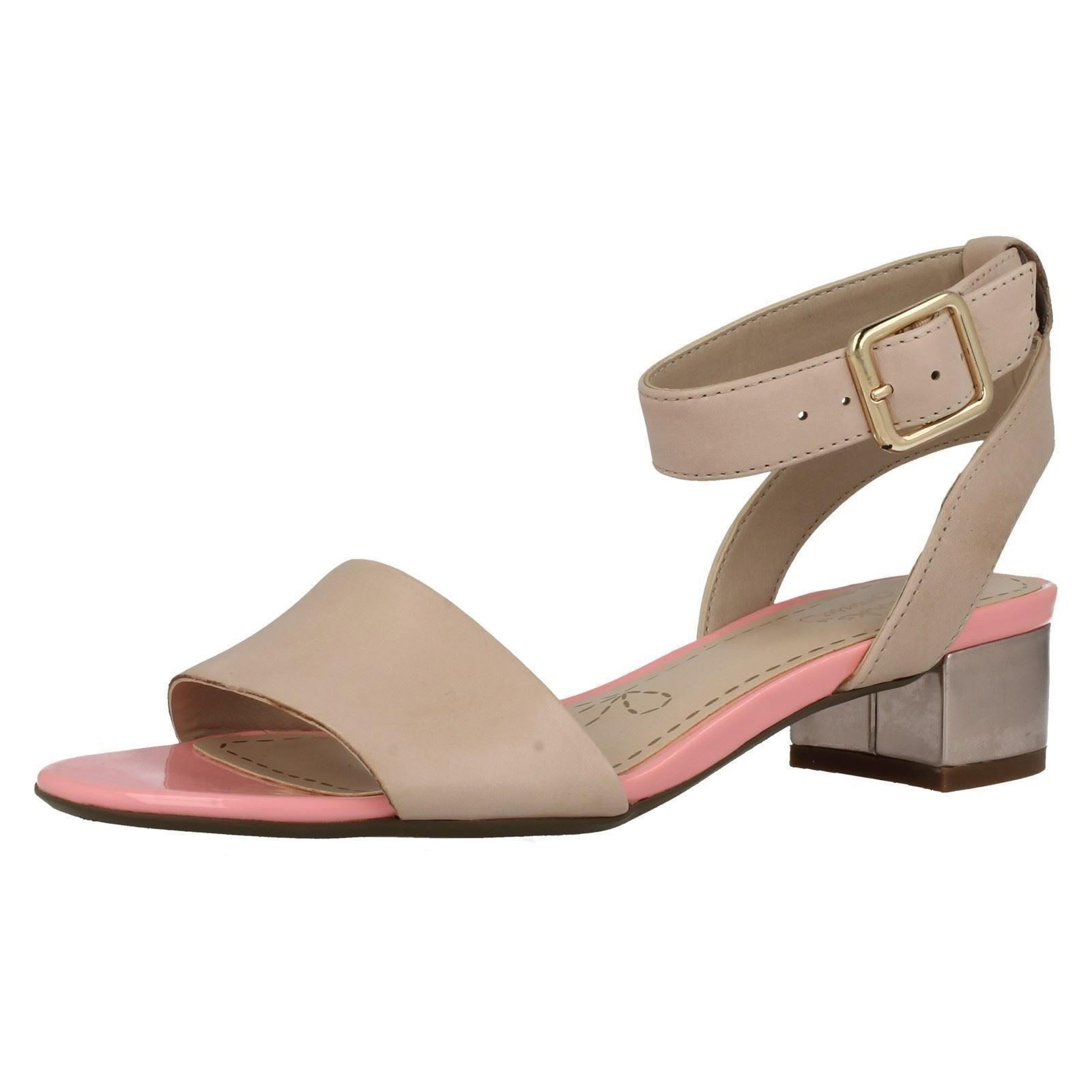 18c93c2c592c25 Clarks Ladies Sandals Sharna Balcony Oyster 3 UK D