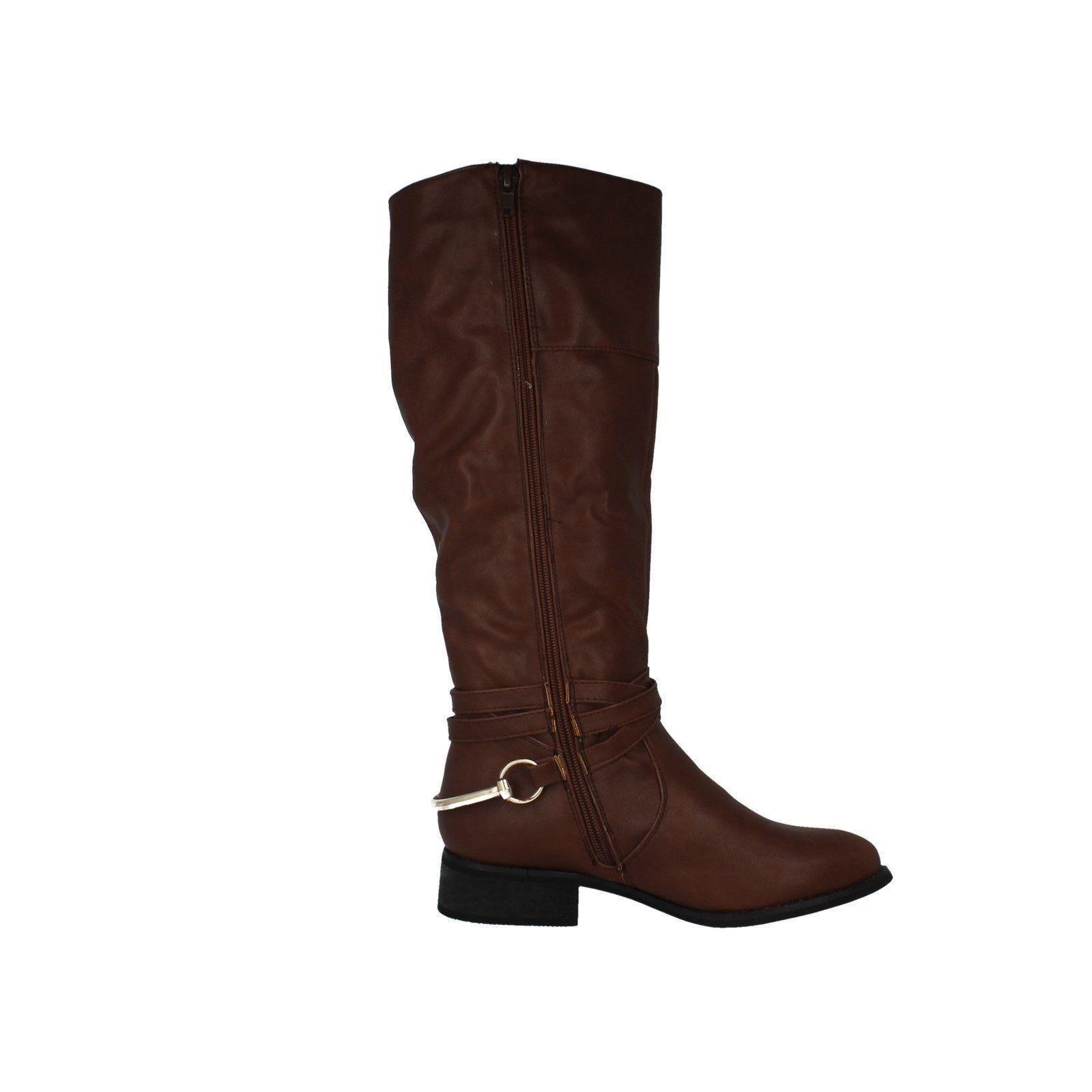Ladies-Spot-On-Long-Boot-Label-F50159-N