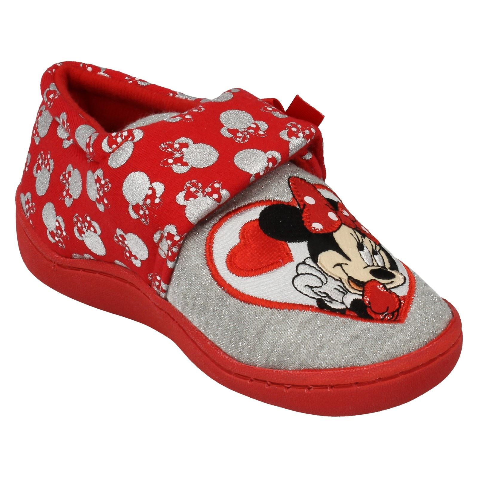 Girls Minnie Mouse Slipper Style - Strand