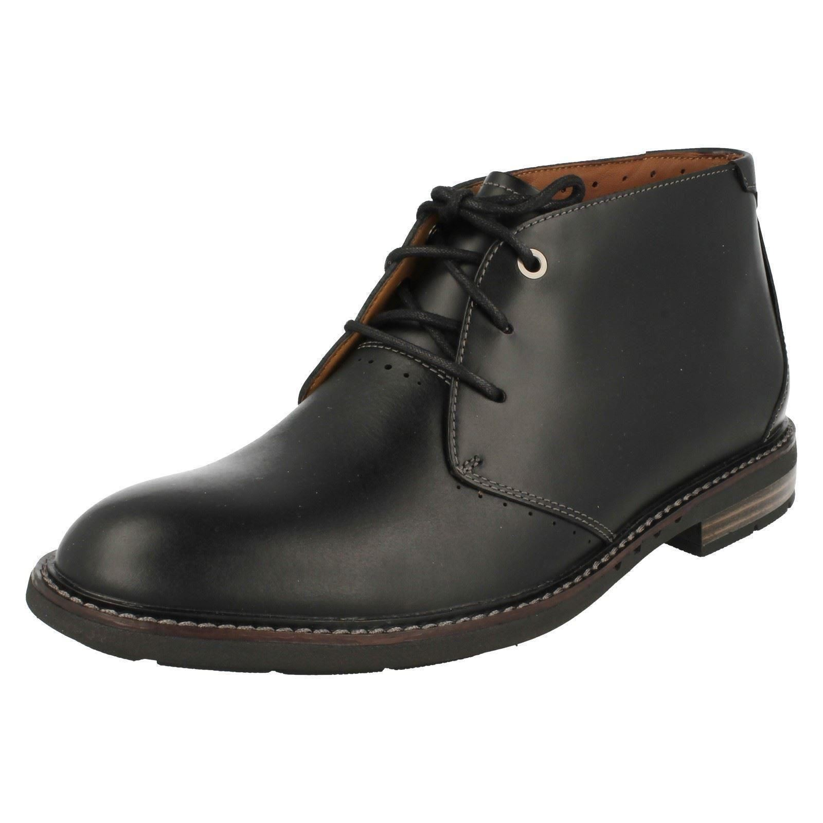 Men's Label Clarks Formal Lace Up Ankle Boots Label Men's -  Unelott Mid 6de814