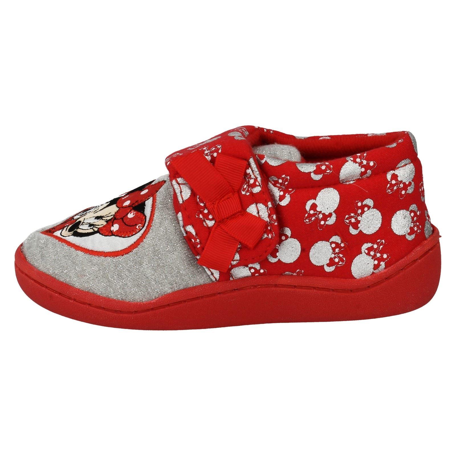 Girls Minnie Mouse Slipper Label Strand