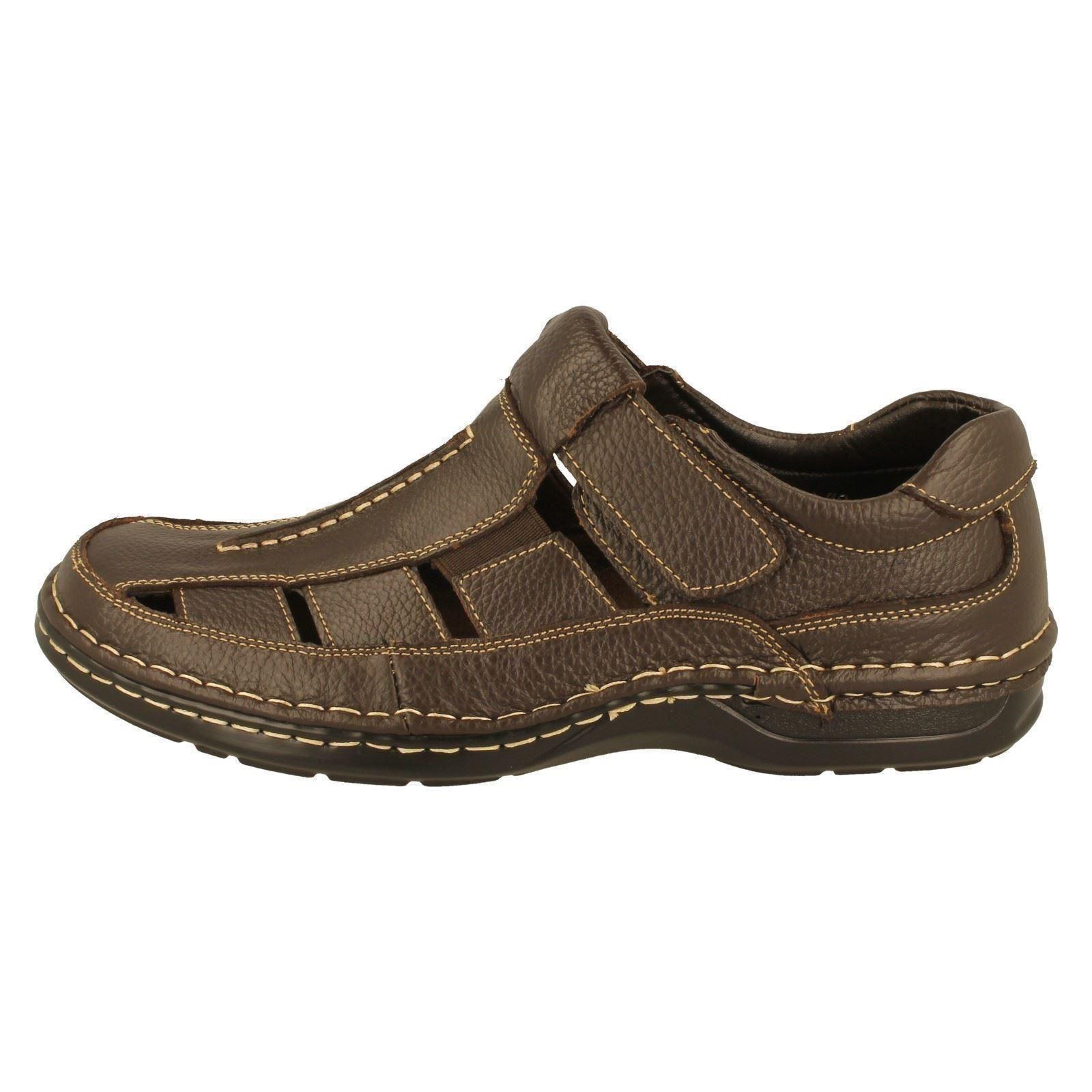 Para pie Hombre Padders Cerrado Sandalias del Dedo del pie Para el interruptor de estilo-W 942a6d