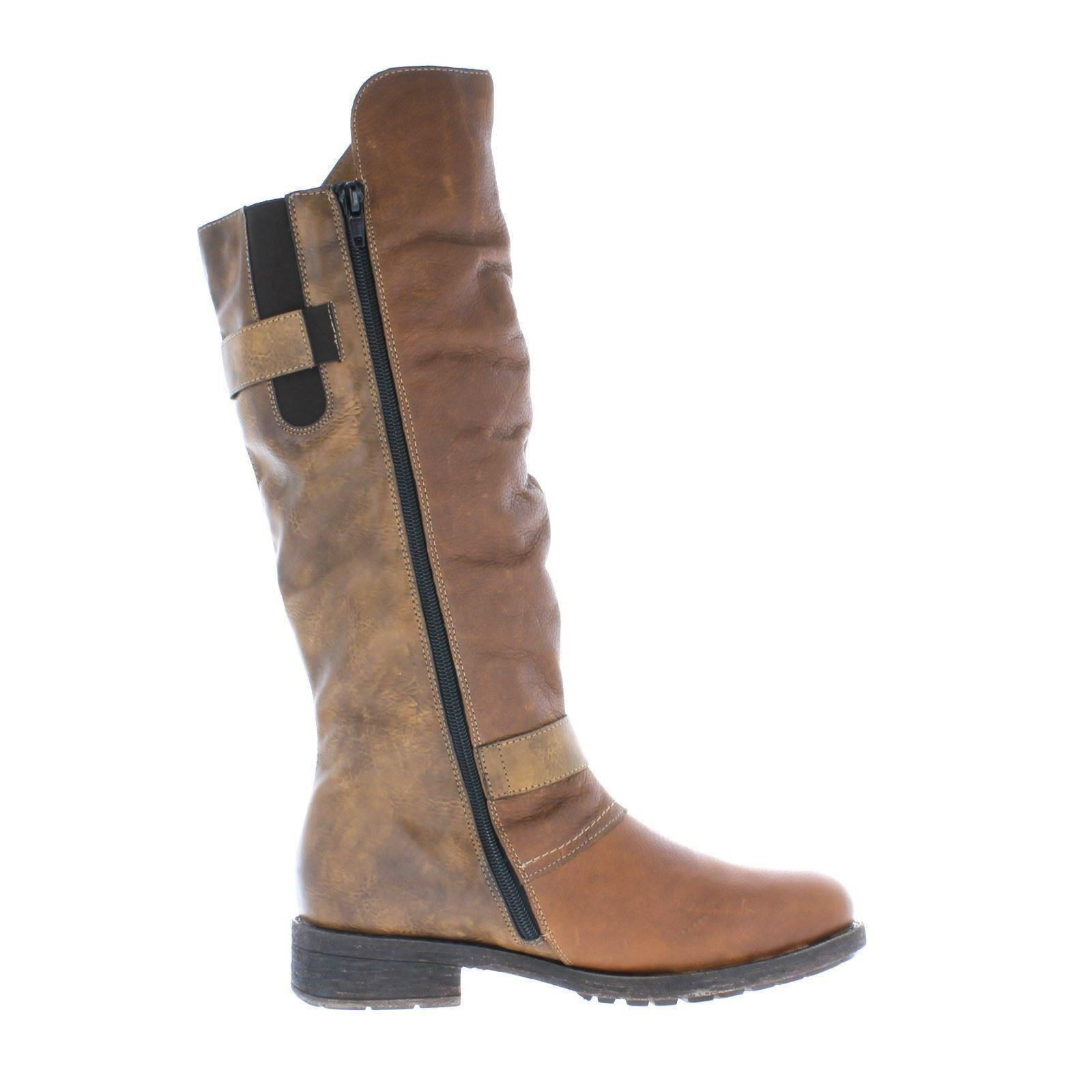 Ladies Combi Boots Brown Warm w tan The Style Lined Remonte D8075 AaAqwrF