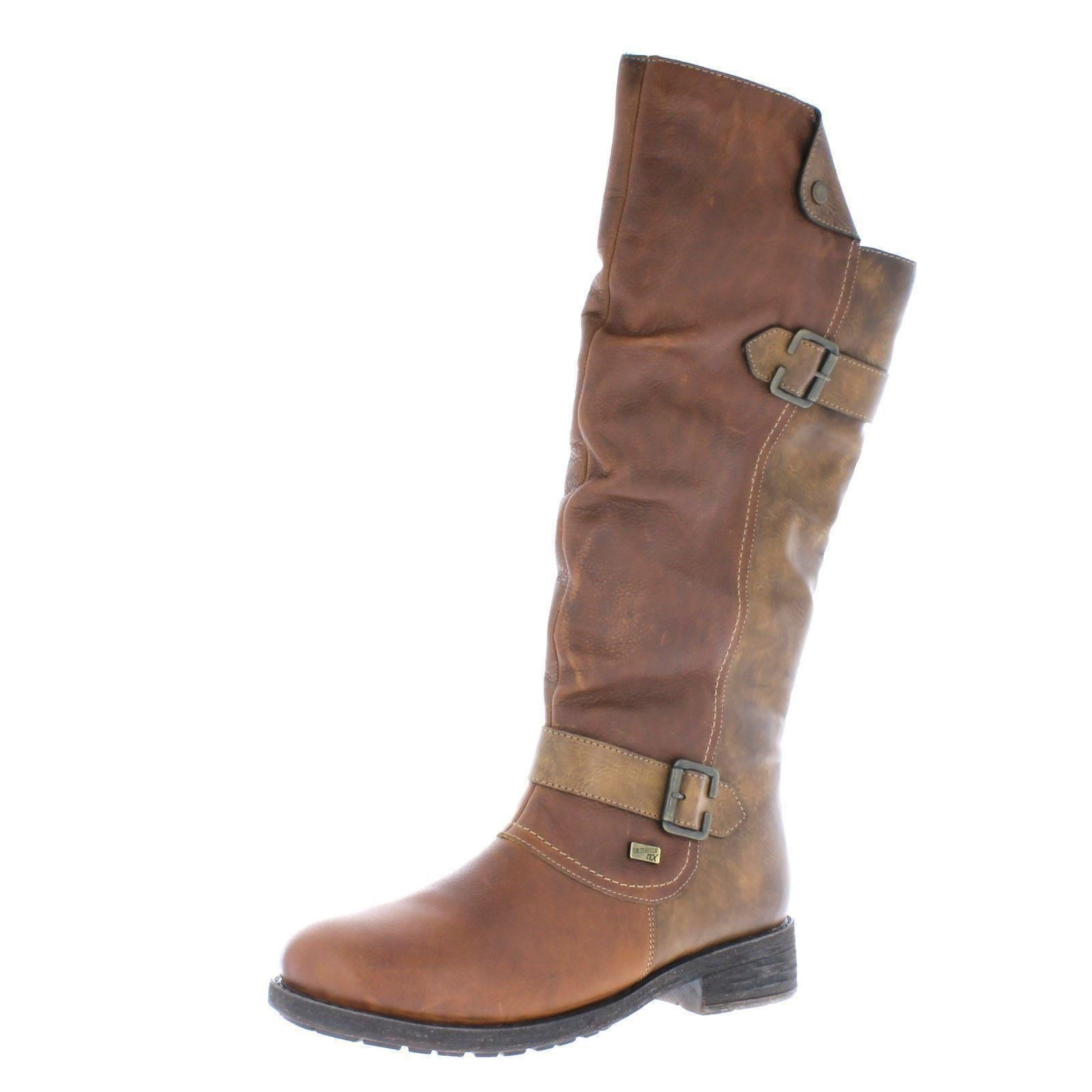 tan Brown w Boots D8075 The Ladies Lined Combi Warm Remonte Style 8qwaUv