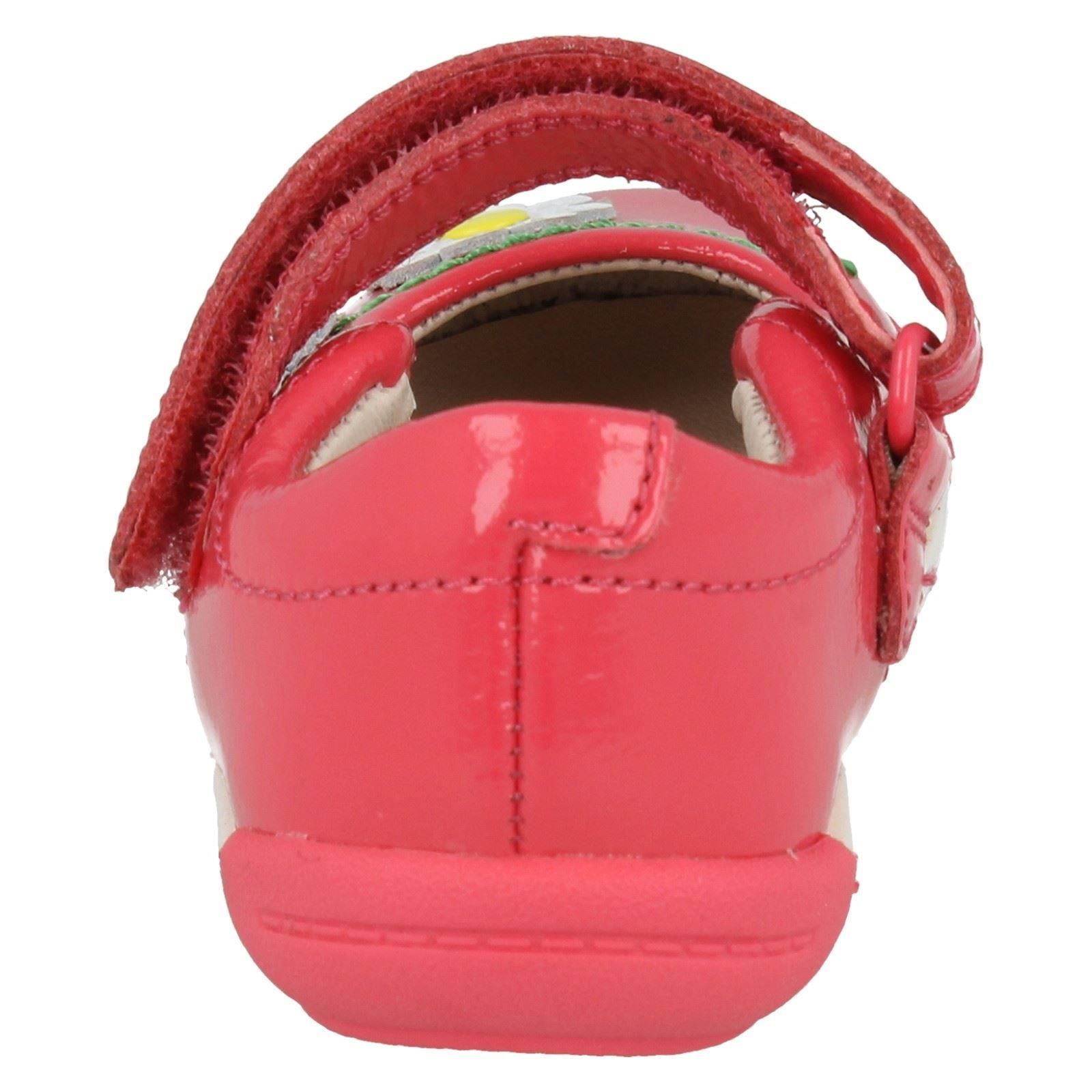 Girls Clarks First Shoes With Floral Detail Softly Jam