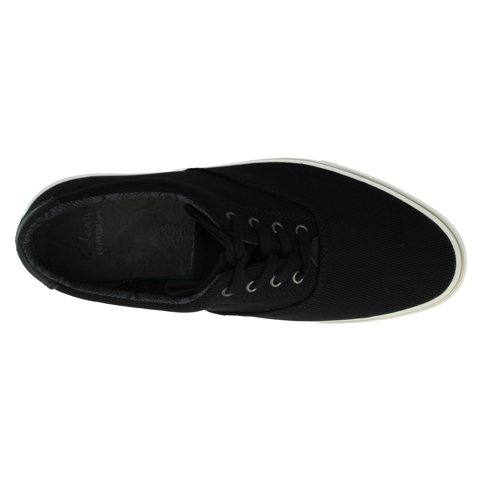 Men's Clarks Lace Up Casual Canvas Shoes The Style - Gosling Walk