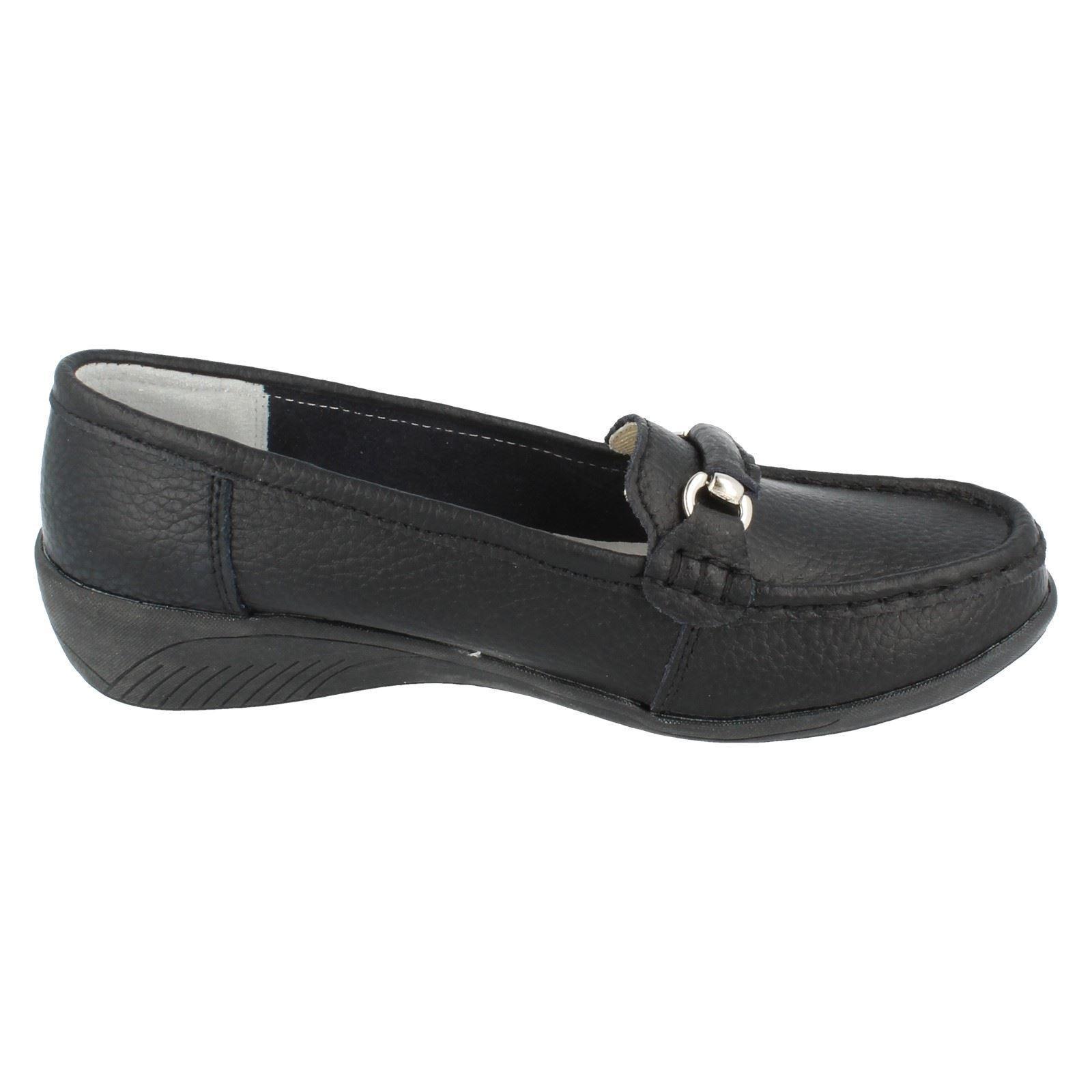 Señoras Eaze Slip On Zapatos Estilo F3093 ~ N