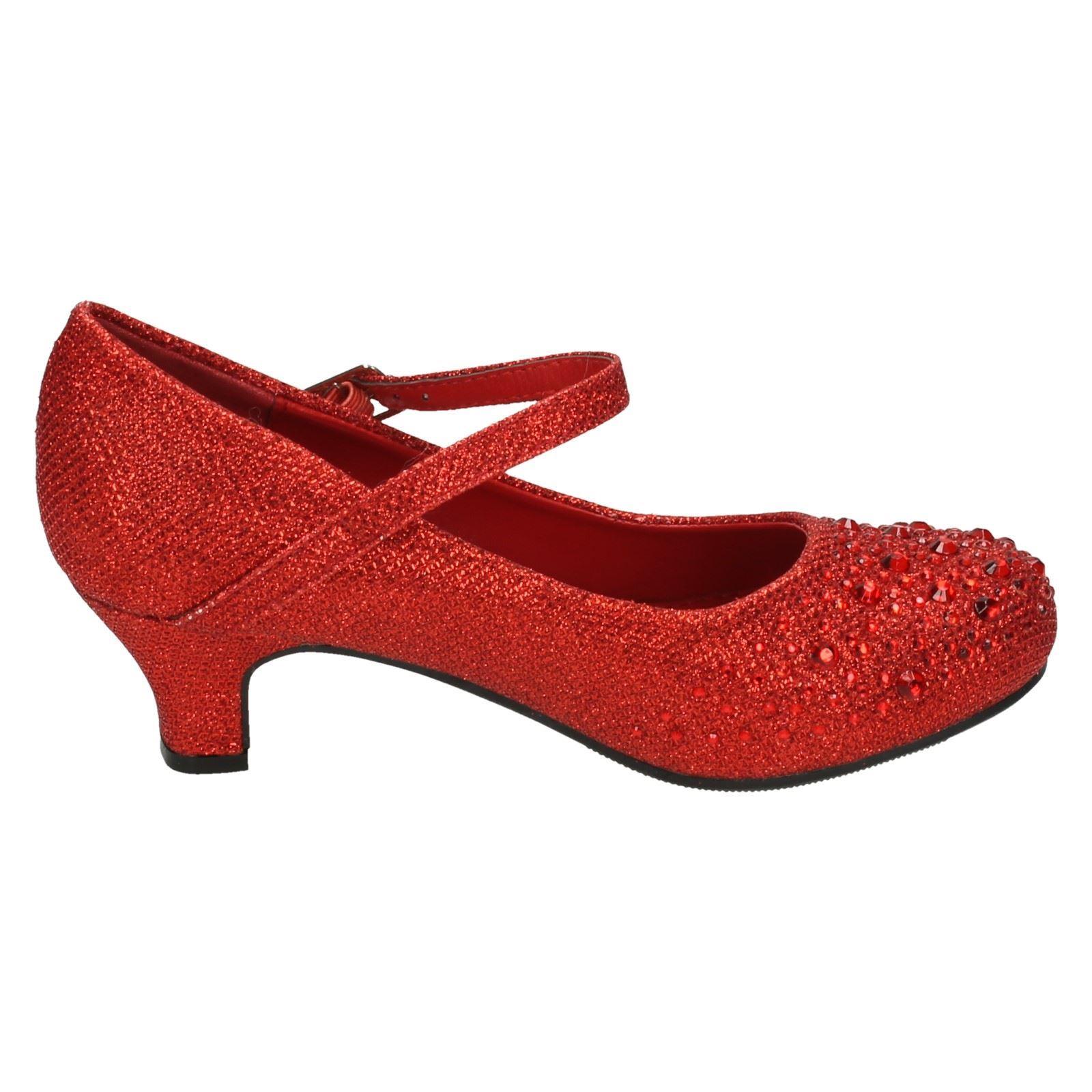 Mädchen Spot On Schuhe Mit Diamante-detail Label H3046
