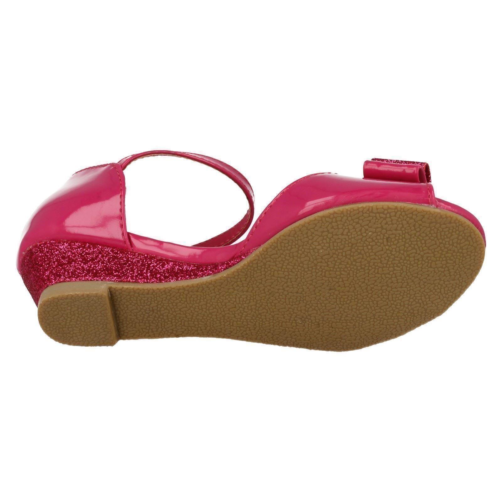 Las niñas en el clavo Sandalias Con Detalle De Moño Estilo-h1077