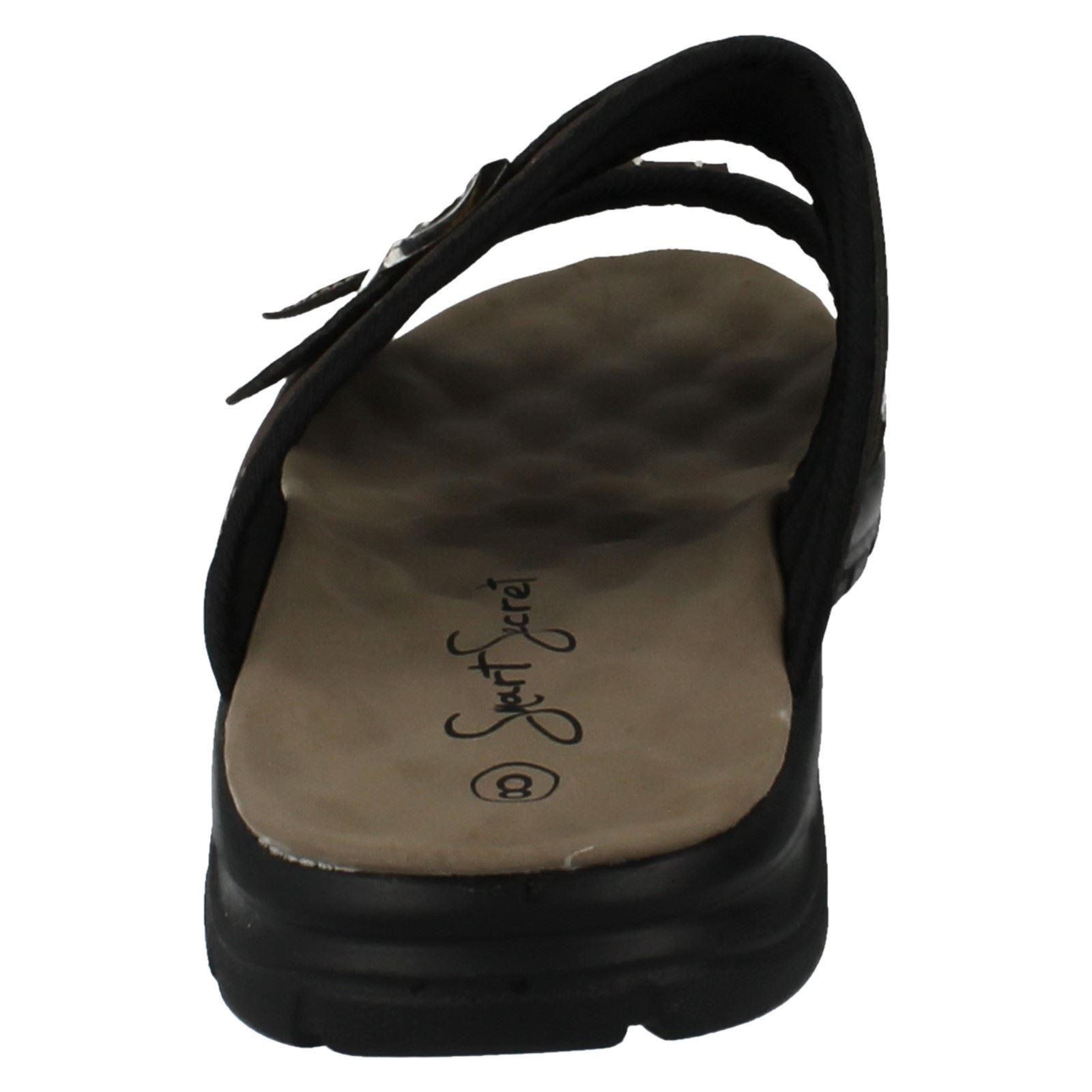 Para Hombre Smart Secret Casual Slip On Mula Sandalias el estilo-l5011