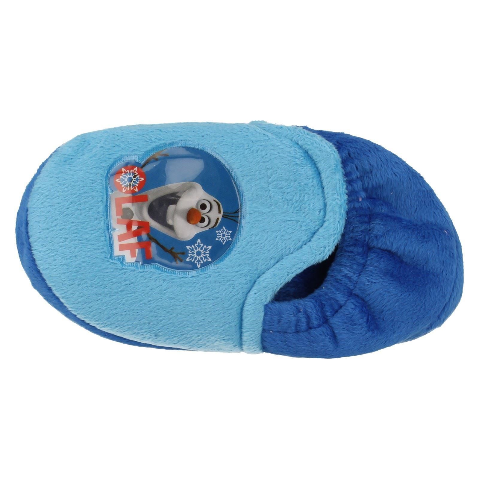 Chicos punto en Novedad Disney Frozen Olaf Zapatillas ~ K