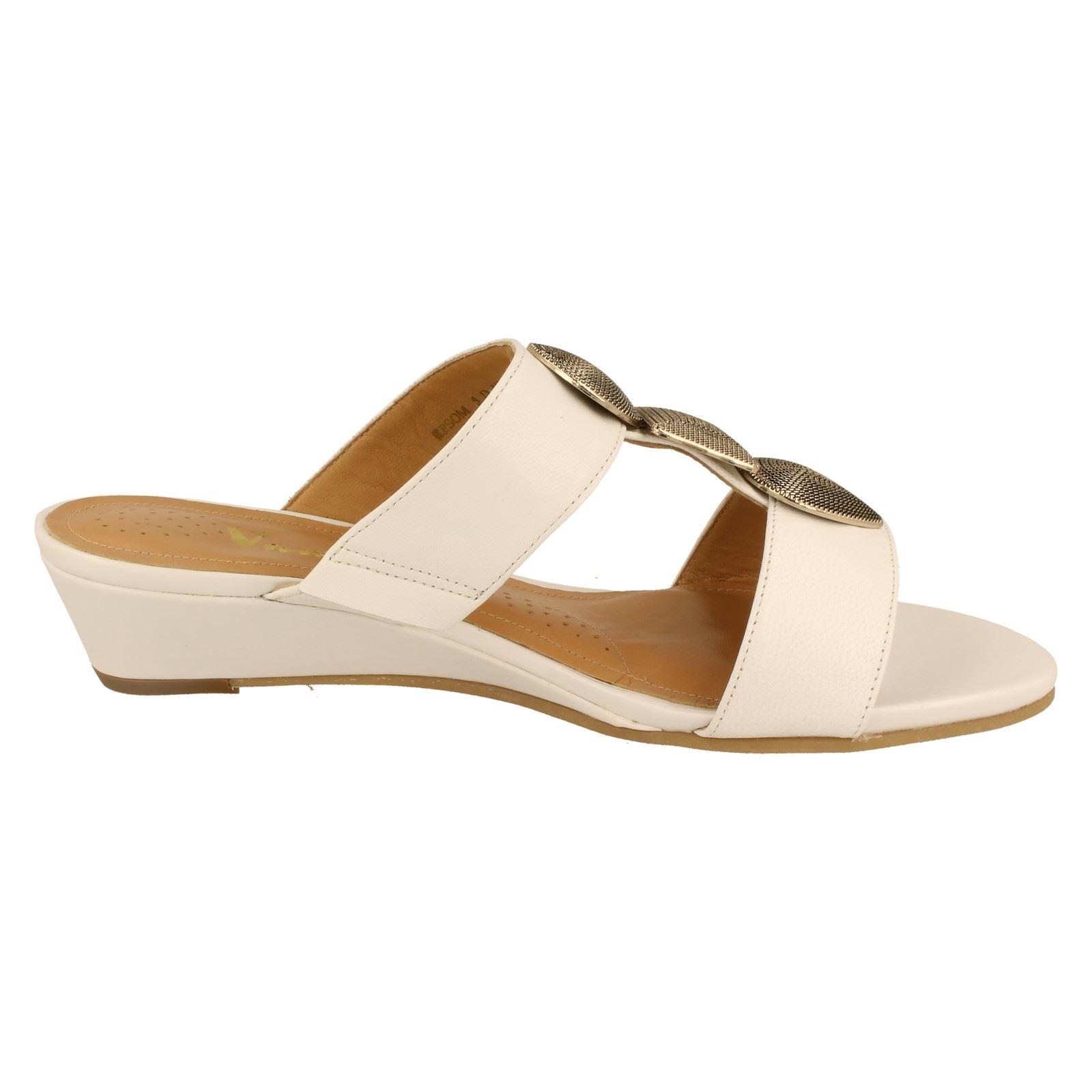 fa611efc02726 Ladies Van Dal Mule Sandals Style Epsom -W