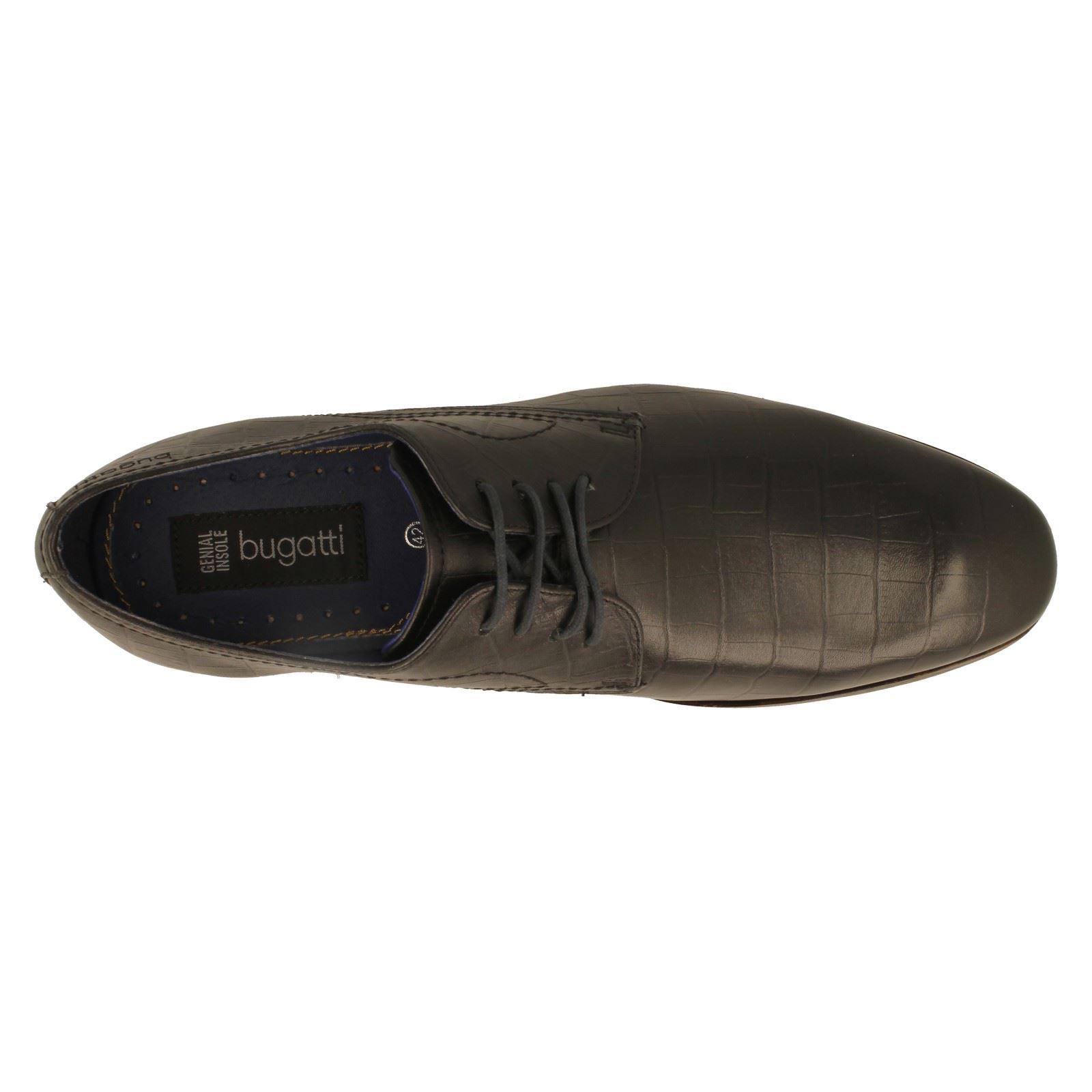 Uomo Label Bugatti Formal Lace-Up Schuhes Label Uomo 312-10501 -w 331410
