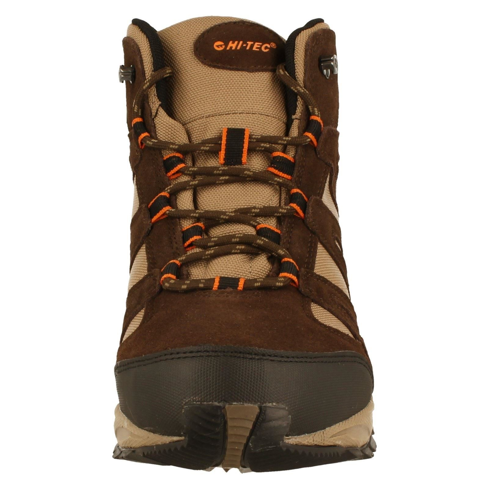 w b Walking Mid The stivali tec taupe orange Alto Wp Hi Uomo Style Chocolate Dark w6zRaRq