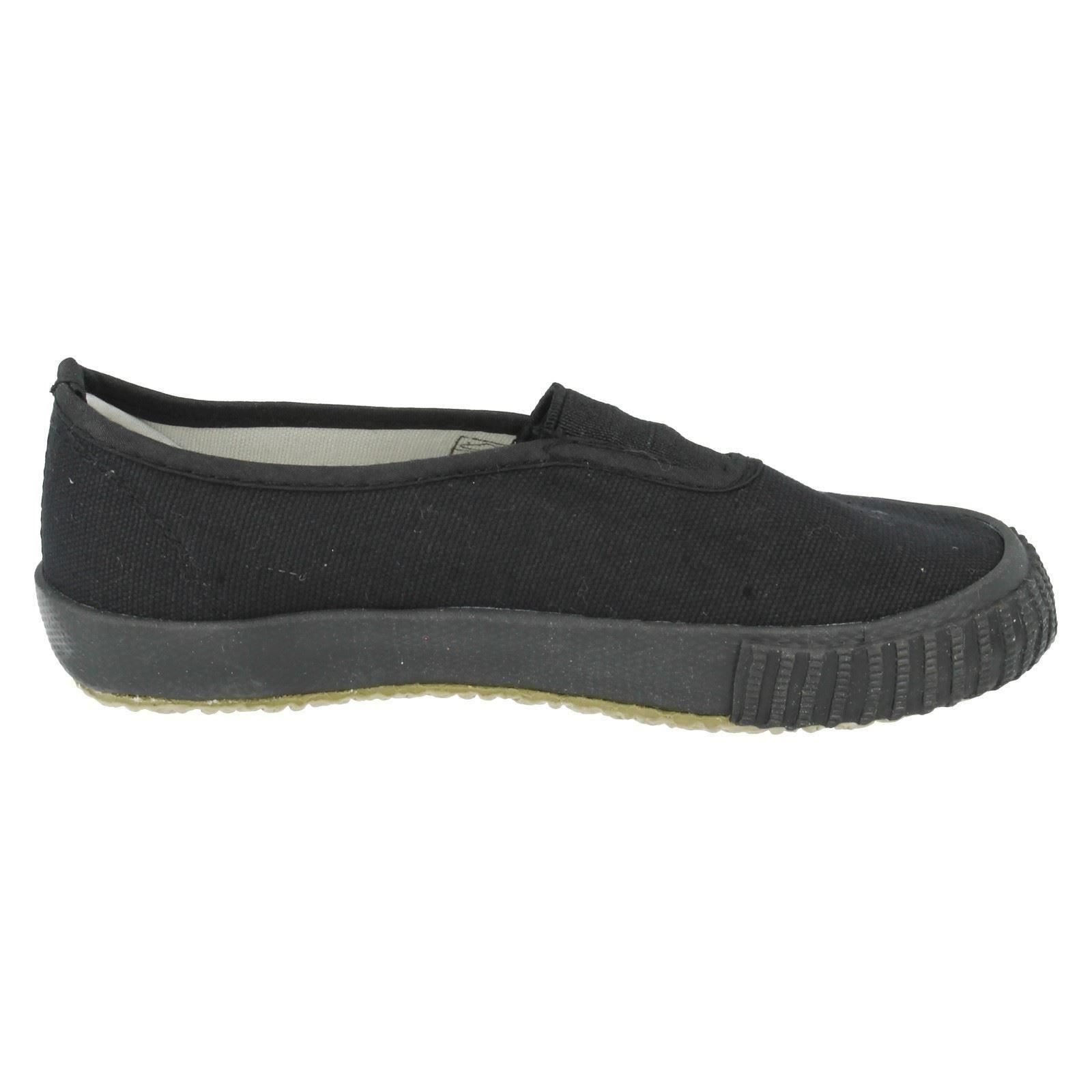 Children Plimsolls The Style - Gussetpl1