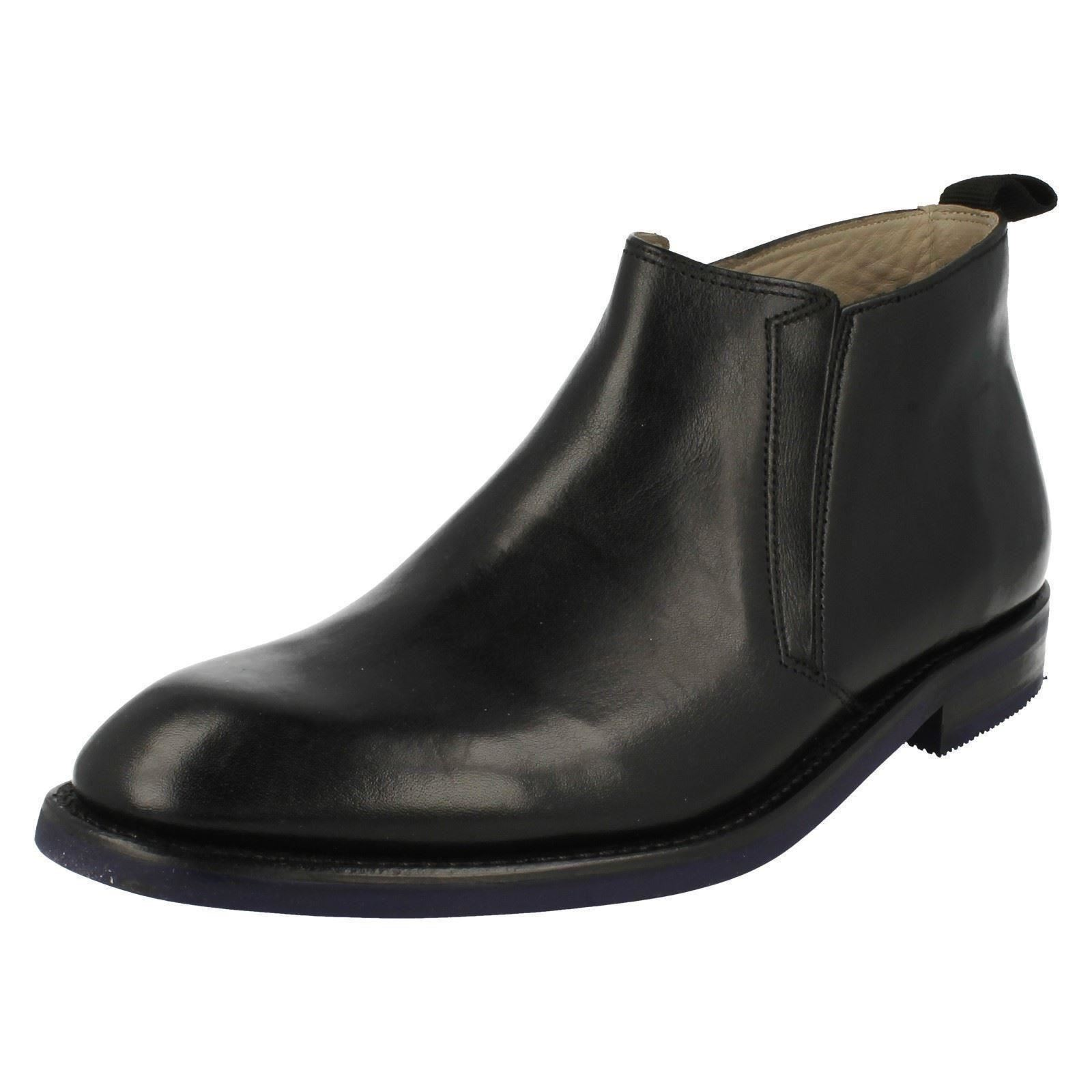 Men's Clarks Label Formal Pull On Boots Label Clarks - Swinley Mid a7e5bf