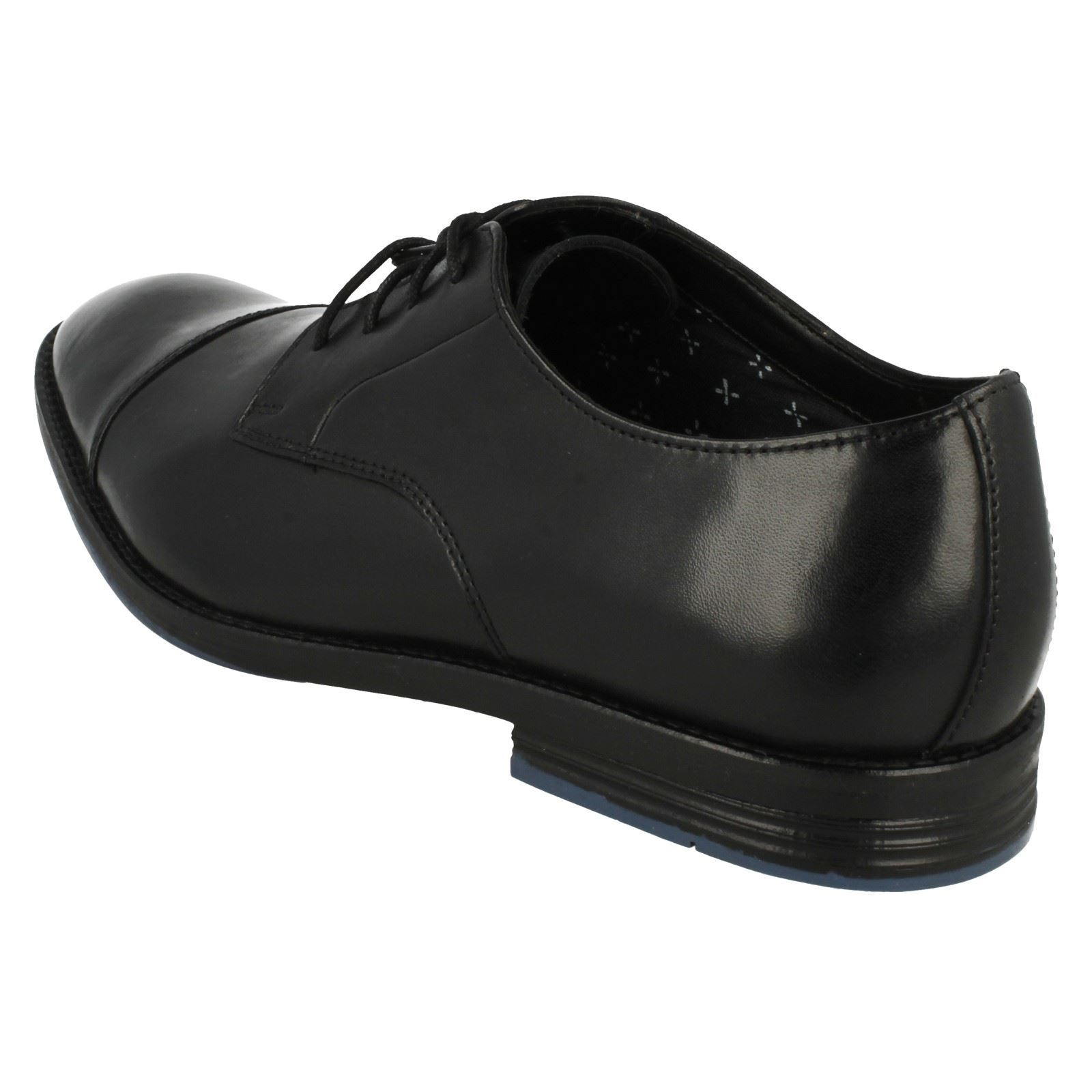 Black Clarks Leather Cap Prangley Up Shoes Formal Lace Men's Toe Oxford BtQodxCsrh