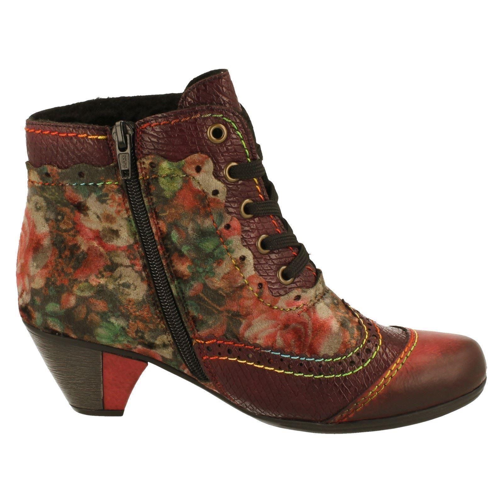 Femmes Rieker Cheville Style Bottes Style Cheville Y7213-W 5b454a