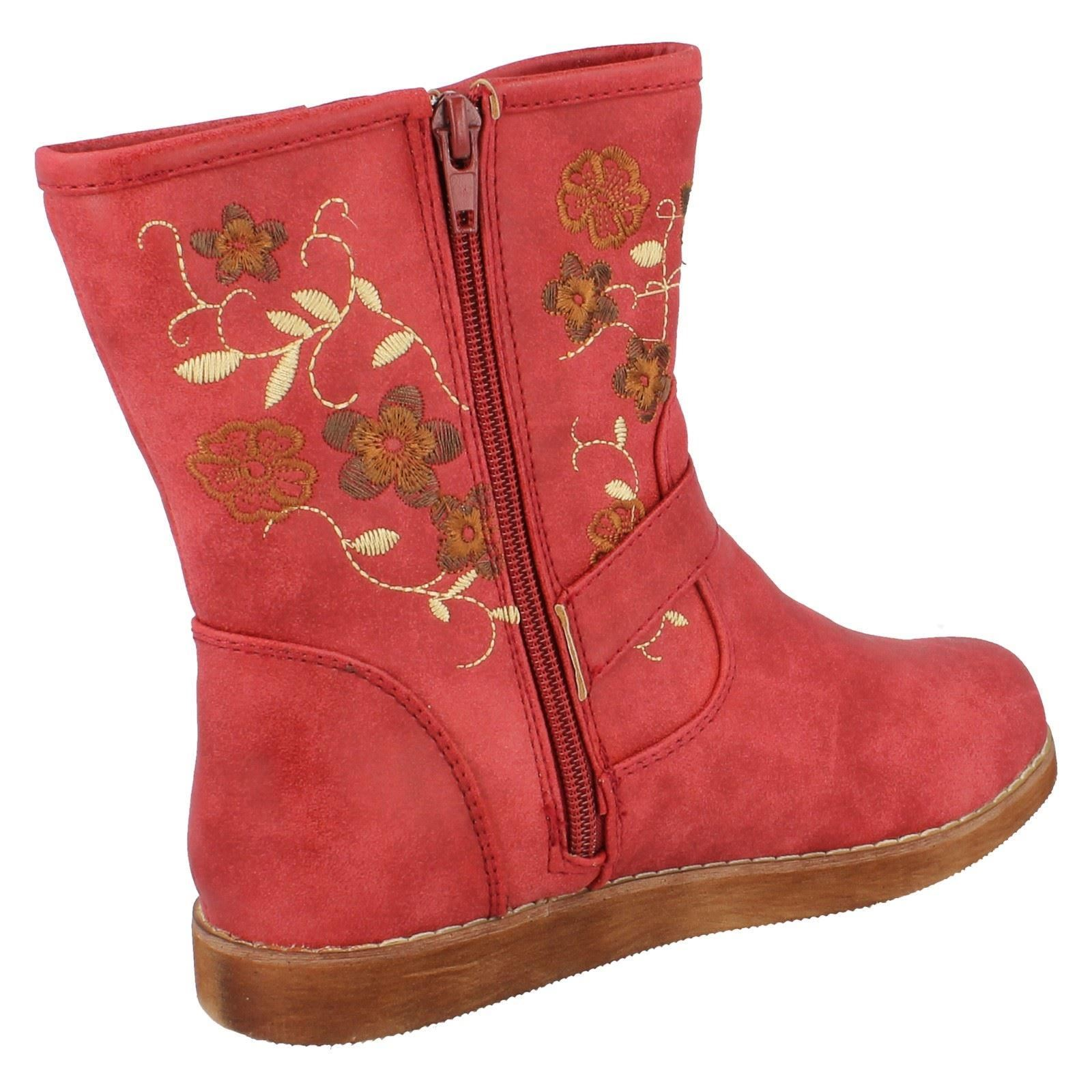 Girls Spot On Boots Style - H4083