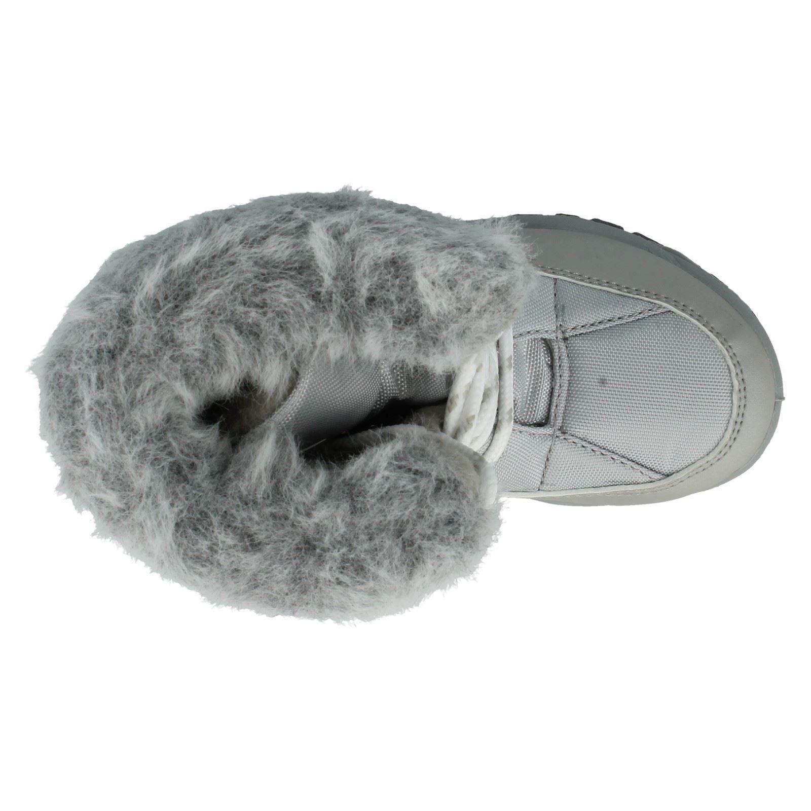 Children Snow Boots With Fur Trim GSSB