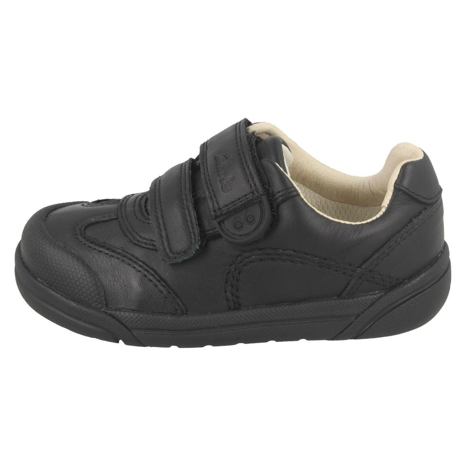 Chicos Clarks Zapatos Informales de Cuero Inteligente Escuela el estilo-lilfolk Zoo