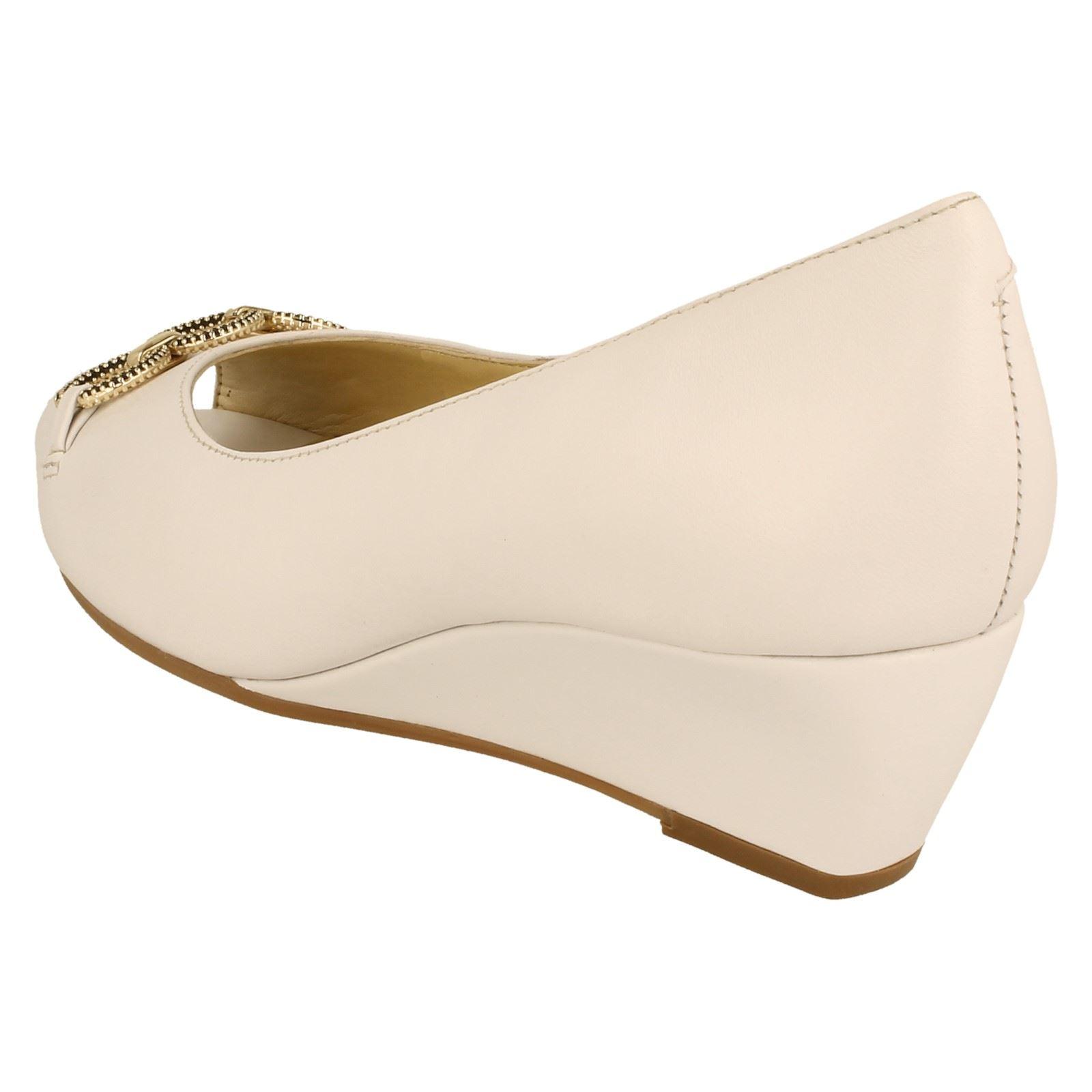 Ladies Peep Van Dal Peep Ladies Toe Wedges Tampa -W b02957