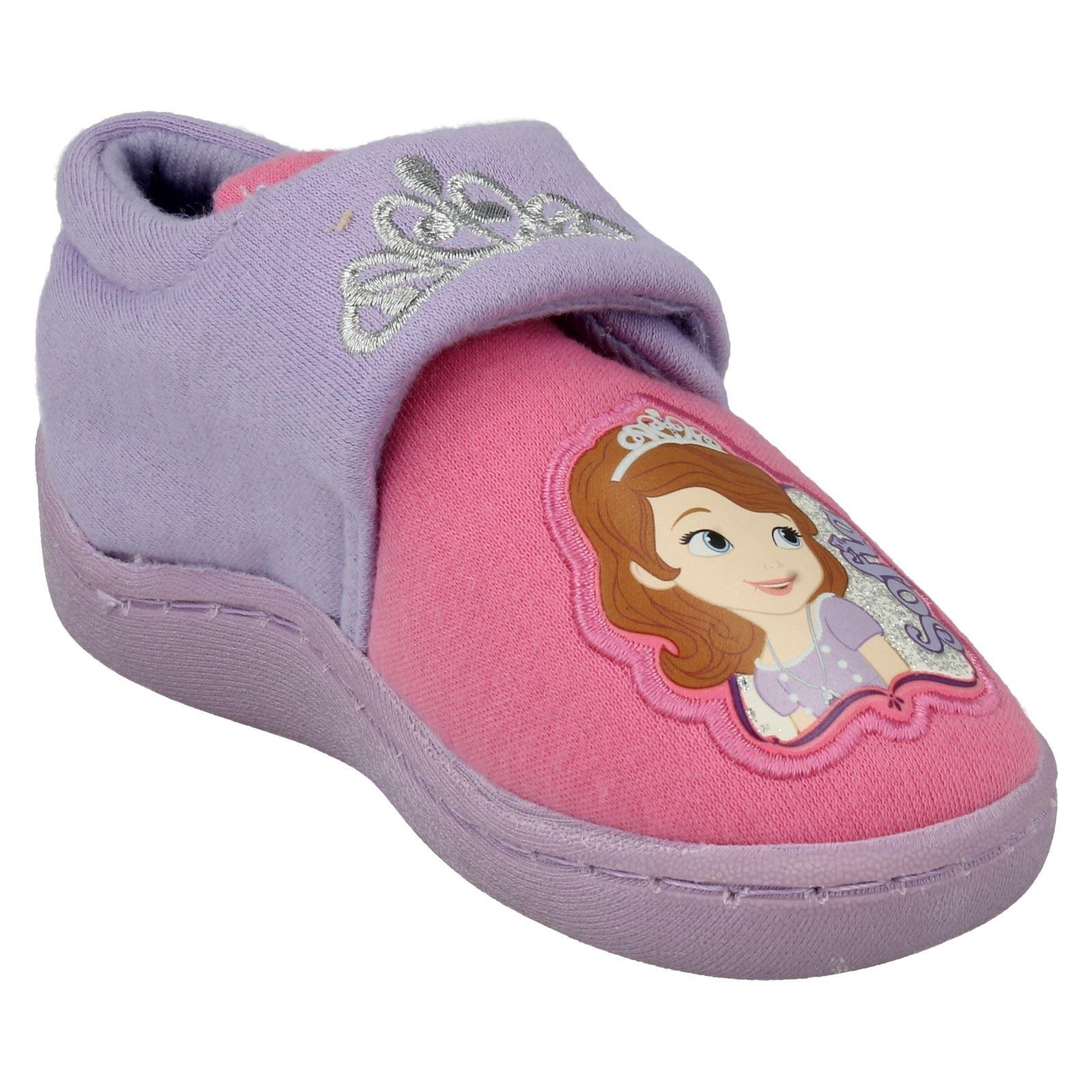 Chicas Disney Zapatillas Sofia Corona lado