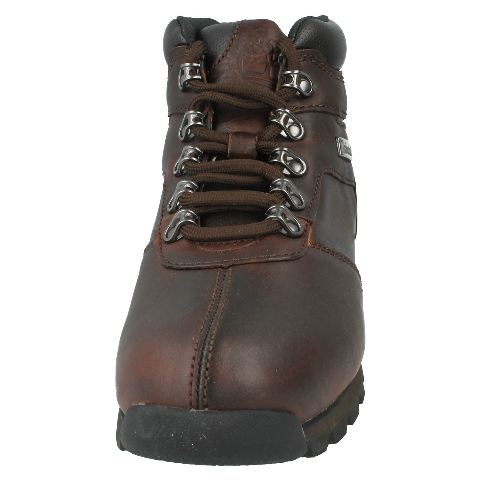 2 Timberland Men's Splitrock Brown Lace Up Boots A11wh Walking Ankle 7qq0dw