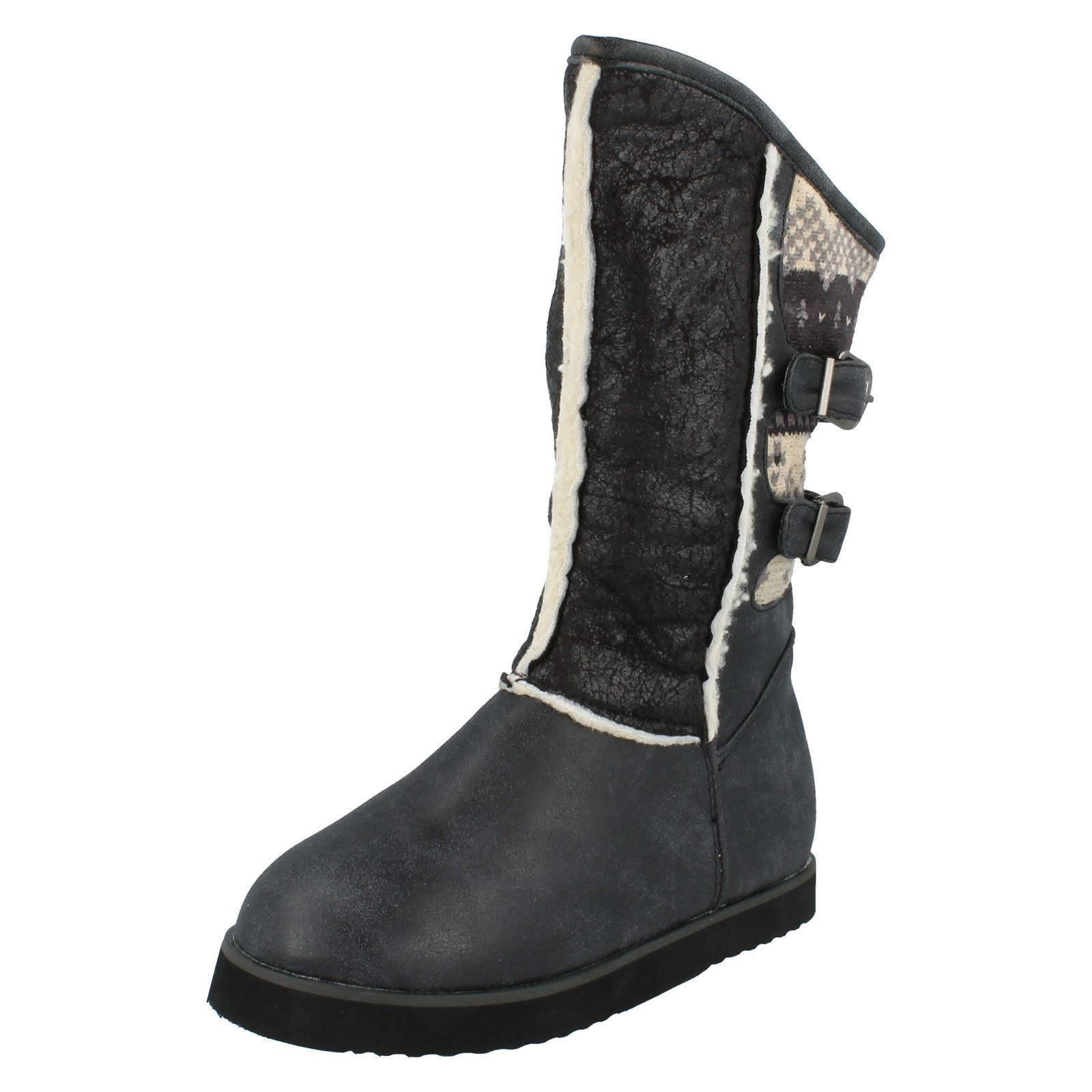 Girls Spot On Boots The Style - H4084