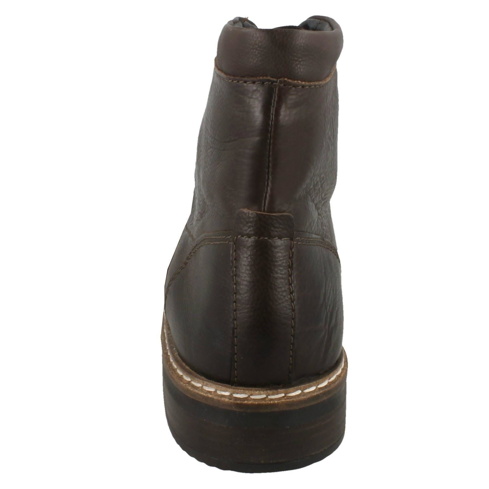 Men's Clarks Lace Up Smart Boots Style -  Blackford Hi