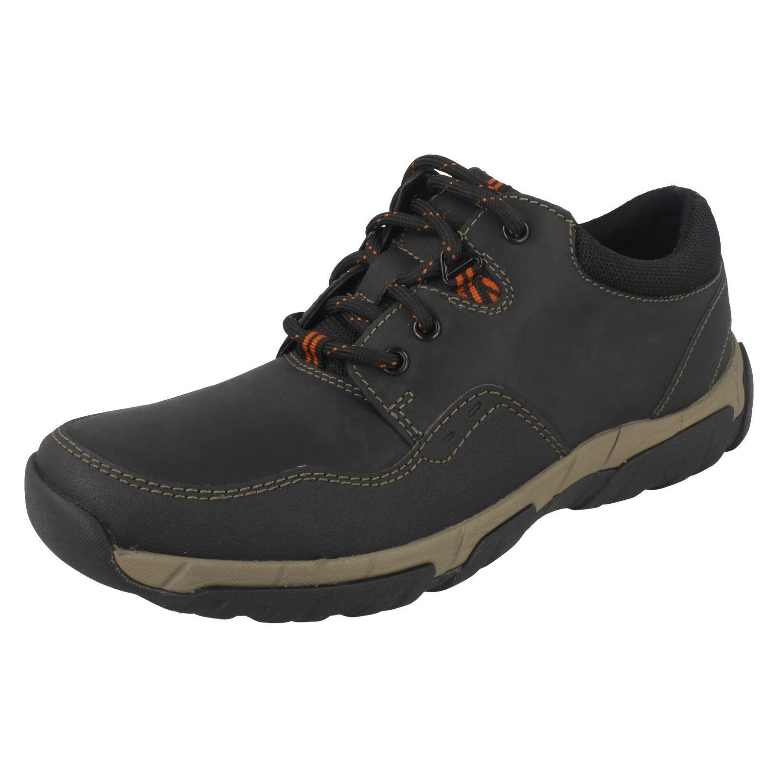 Herren Herren Herren Clarks Waterproof Casual Lace Up Schuhes Style - Walbeck Edge II 15b057