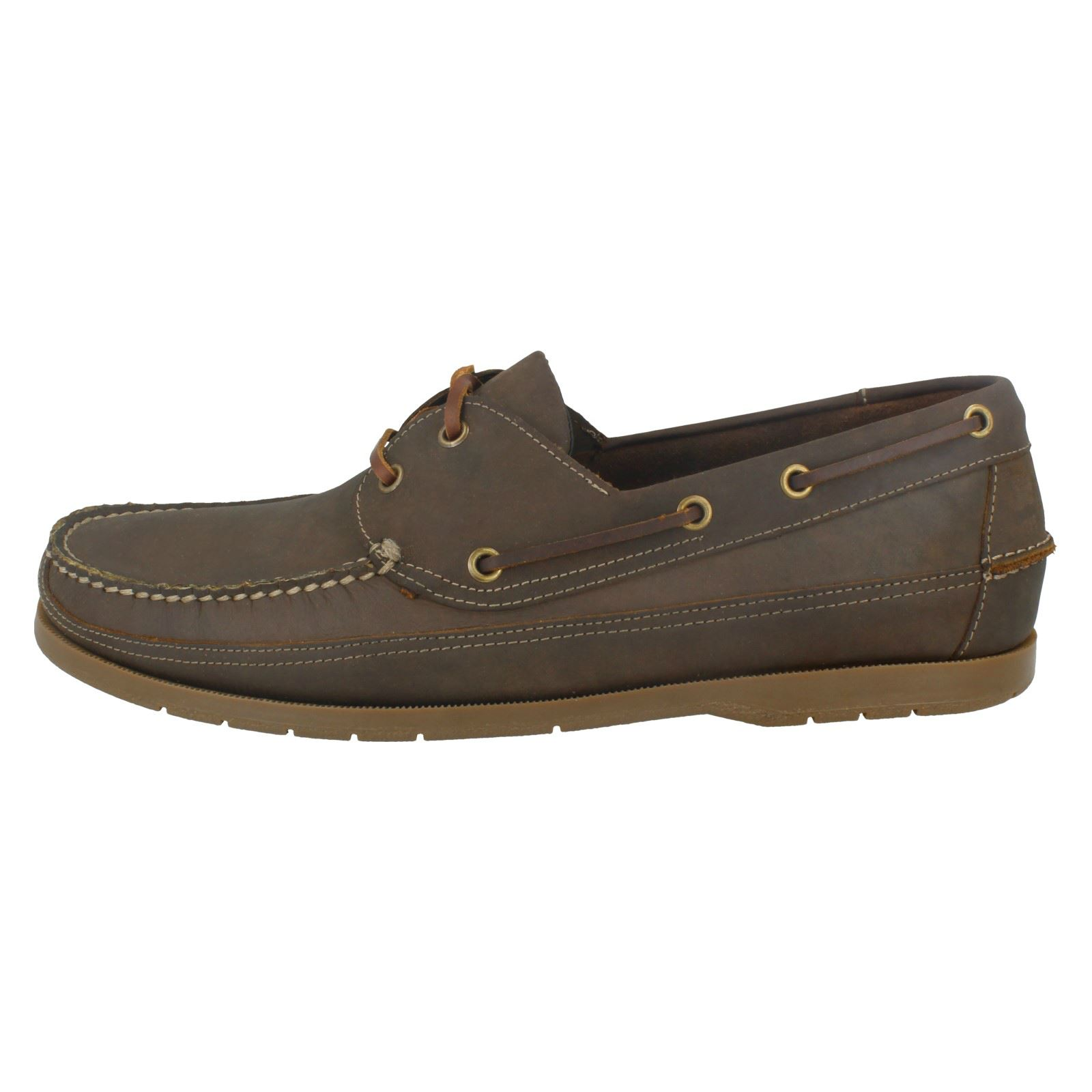 Mens Anatomic The Style Viana Lace Up Boat Shoe
