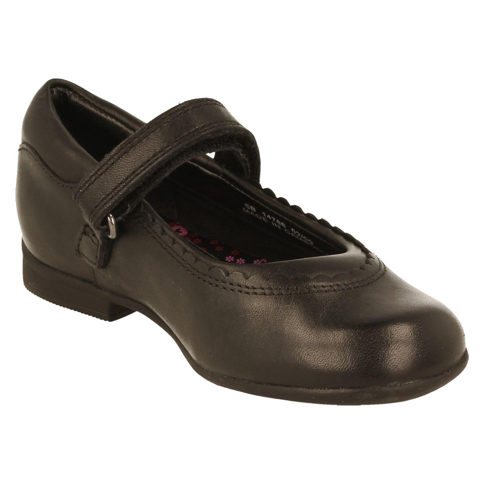 Girls Clarks Mary Jane Shoes Style Dolly Twist -W