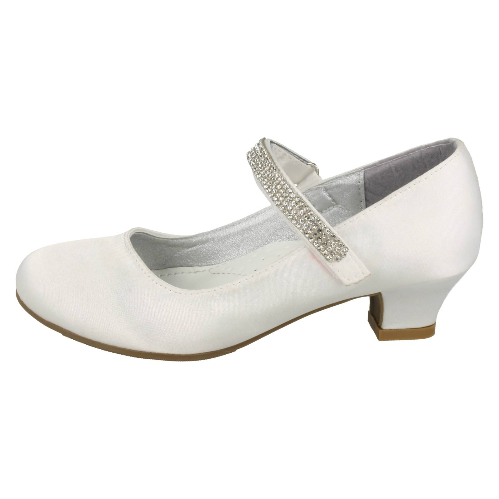 Chicas Mancha En Medio Tacón Diamante Correa Zapatos el estilo H3066