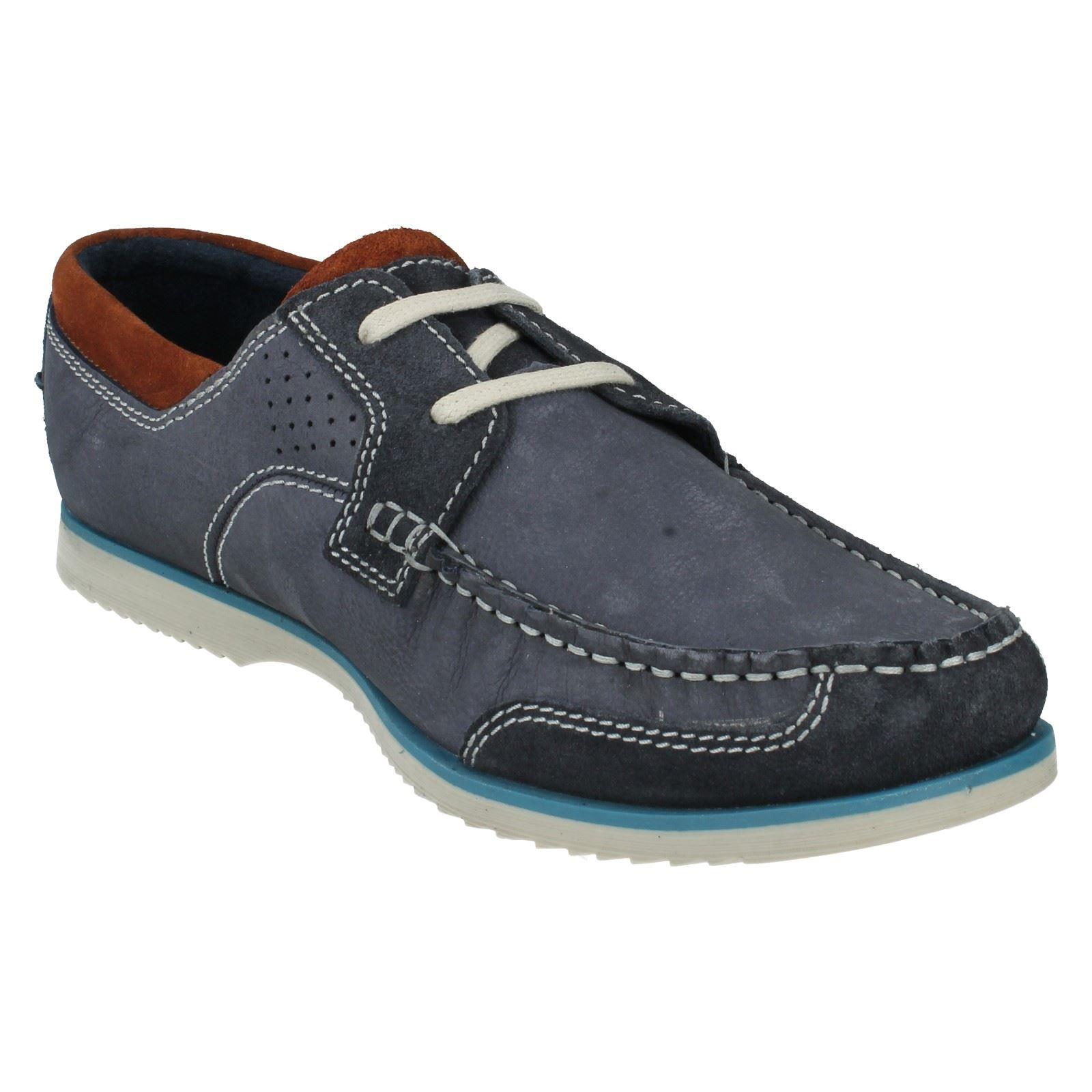 Mens Clarks Boat Shoes Label Kendrick Sail -W -W Sail 549ba5
