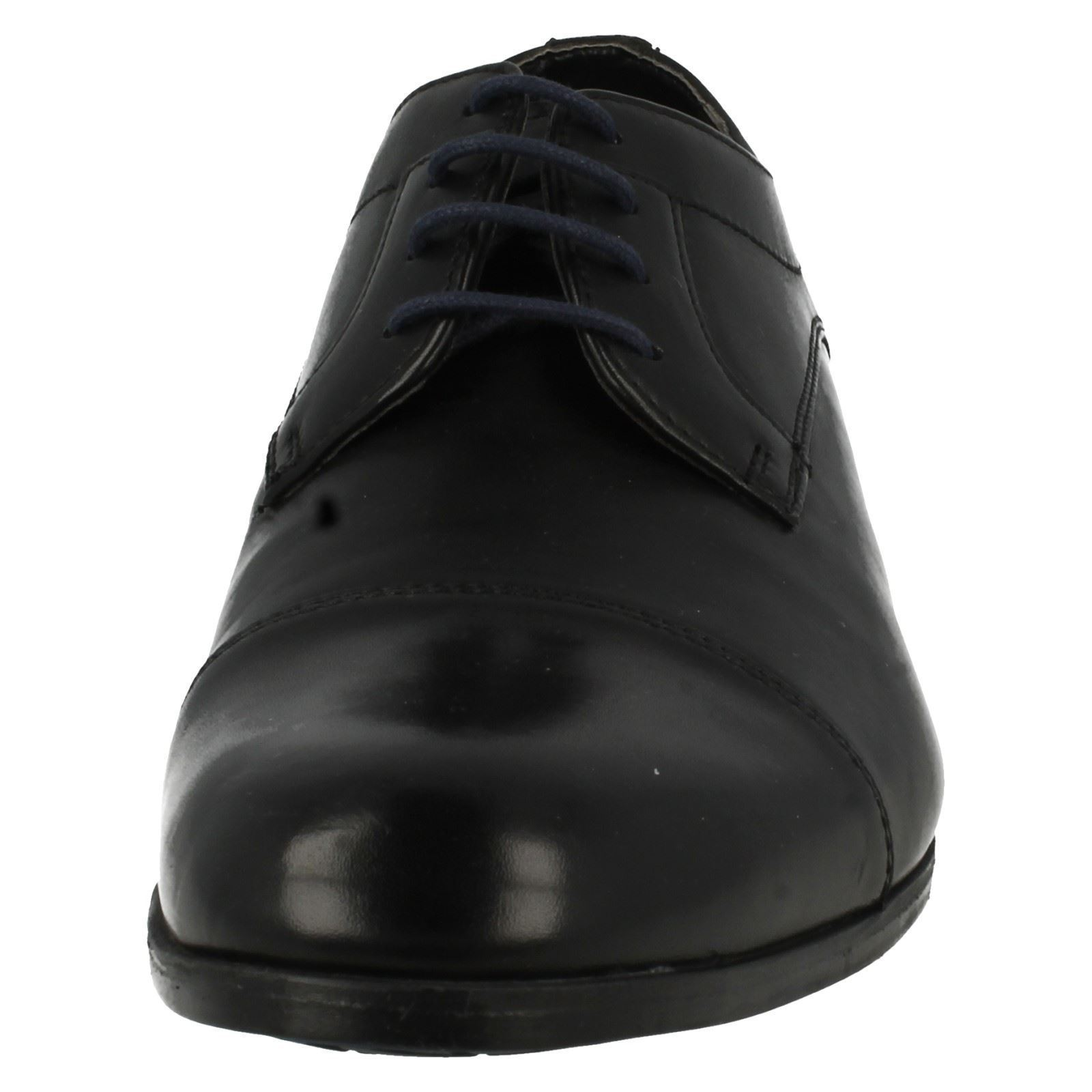 Men's Clarks Formal Lace Up Cap Shoes Label - Banfield Cap Up e95b00