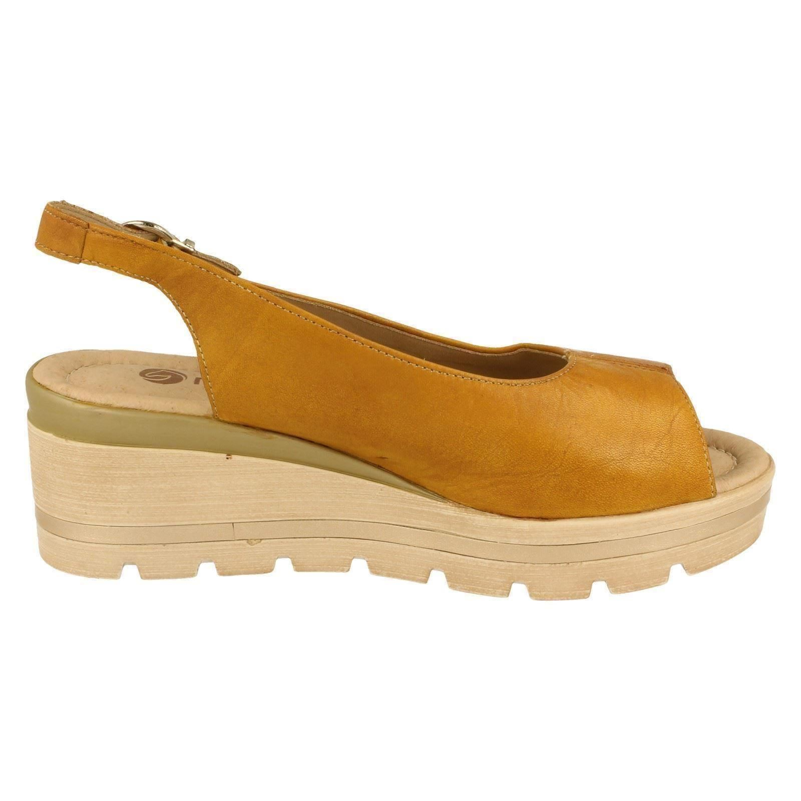 Remonte Style D1557 Sandals Yellow w The Ladies n87wZfqxvq