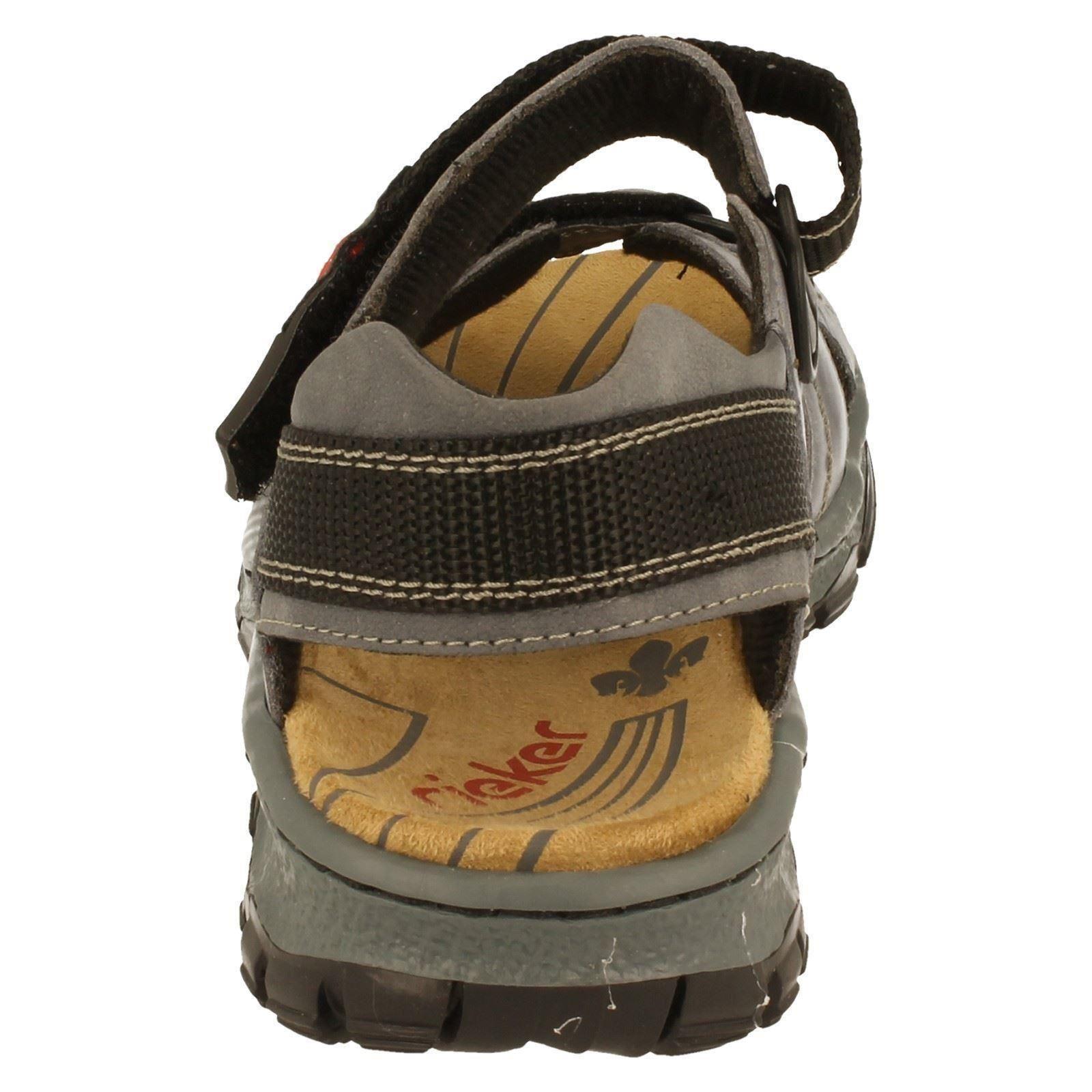 Señoras Rieker Trekking Sandalias 68851-W