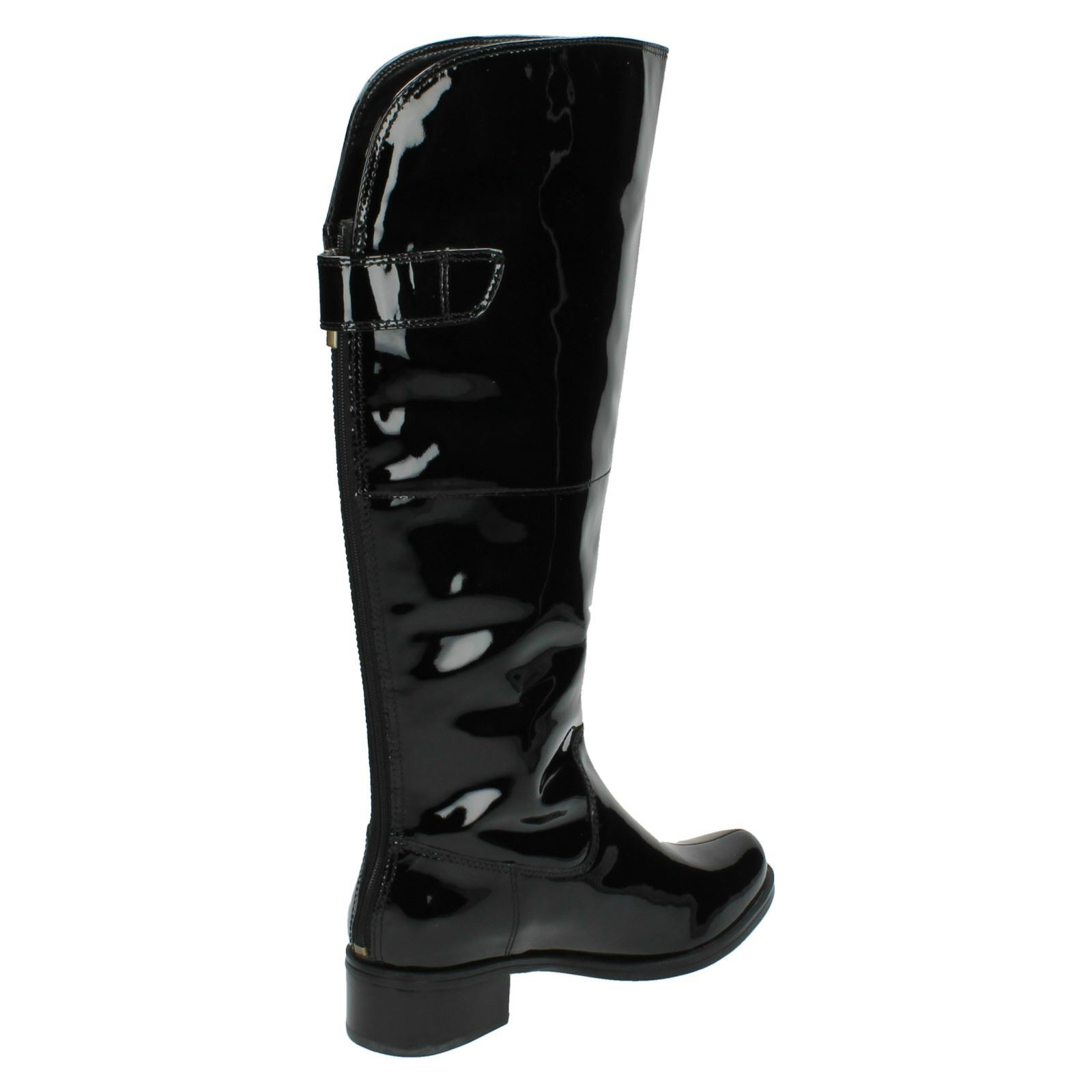 582c3f98d72 Ladies Clarks Knee High Boots Style - Kildale Drama