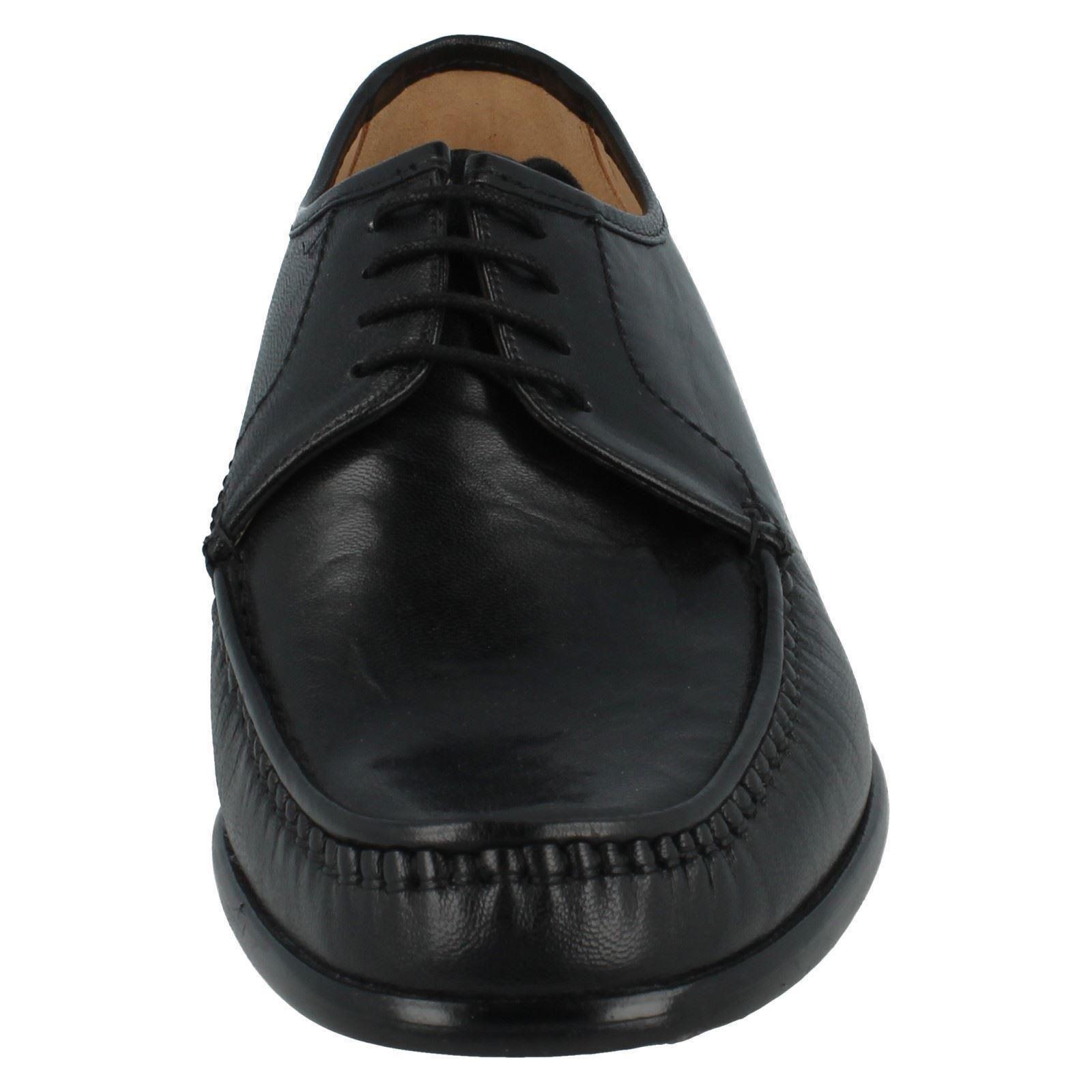 Da Uomo Grenson Formali Scarpe in cuoio Crewe 33343-01 RACCORDO G Scarpe classiche da uomo