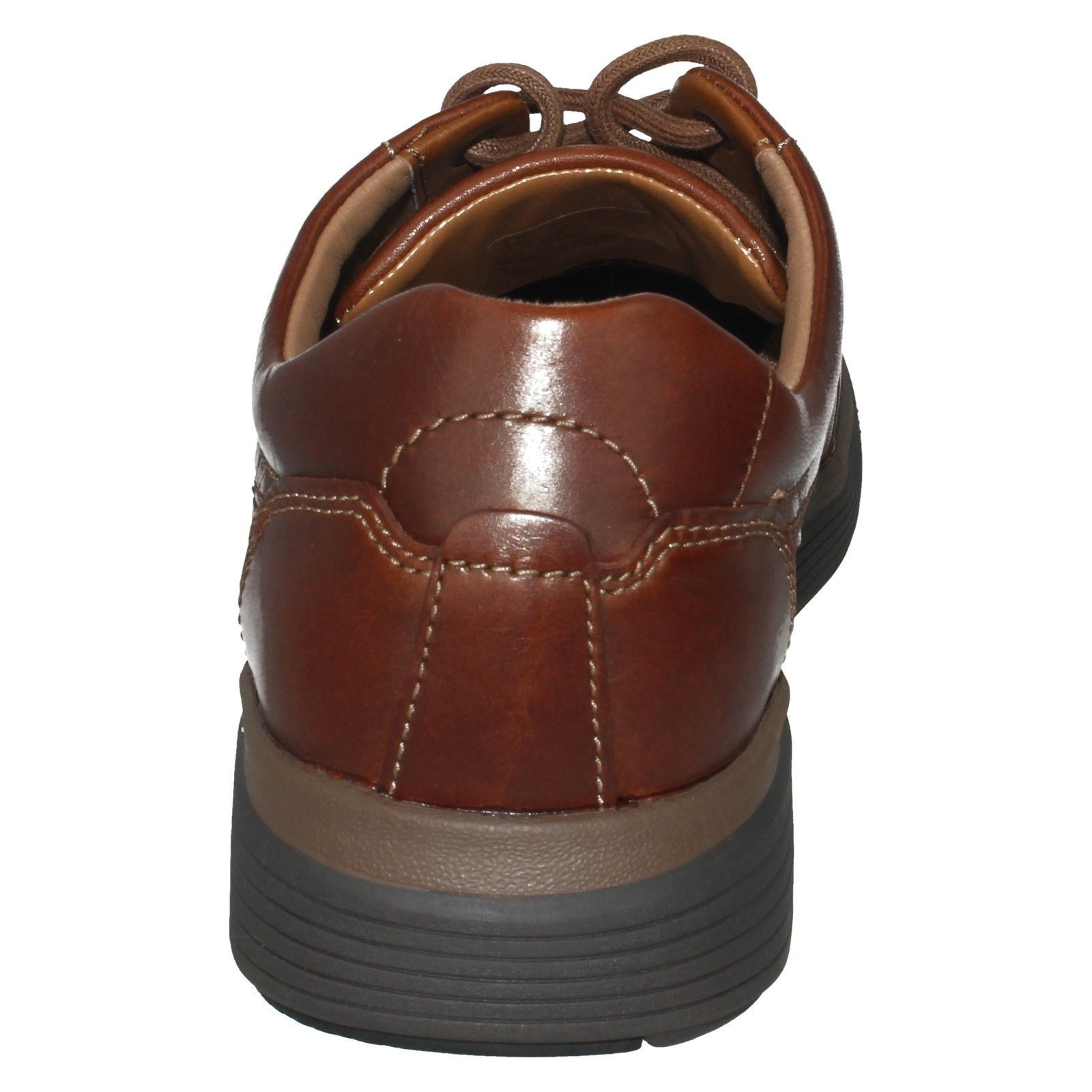 Hombre Unstructured by Clarks Leather Casual Zapatos The Style - - - Un Abode Ease 25fdd1