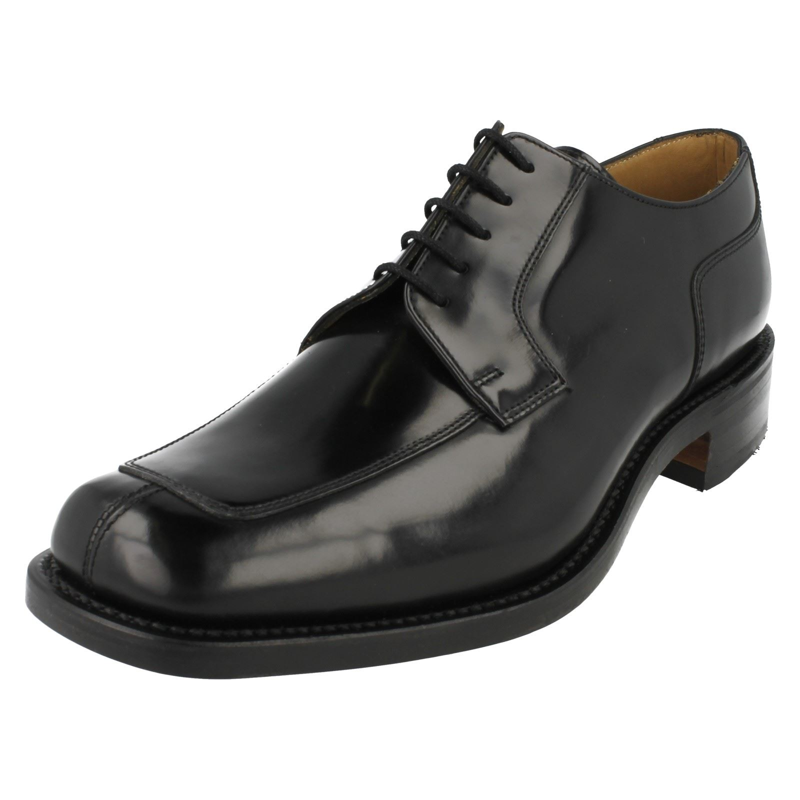 uomo pelle scarpe 1303b da uomo Loake in di da Stile nera wqU1nRBPx