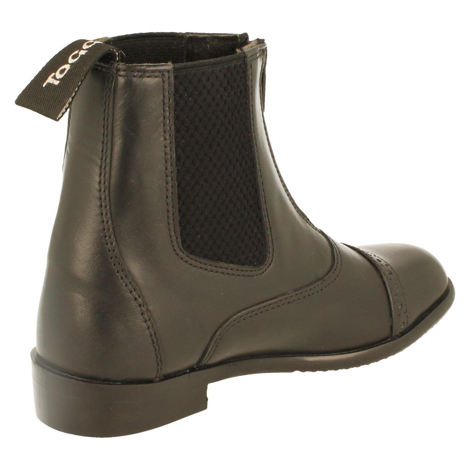 Ladies Toggi Leather Leather Leather Jodphur botas Augusta-W 048cc4