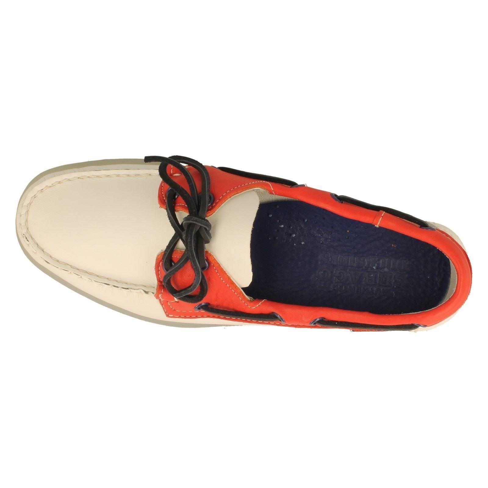 Scarpe casual da uomo  Da Uomo Sebago Scarpe da barca/DEL PONTE lo stile Spinnaker-W