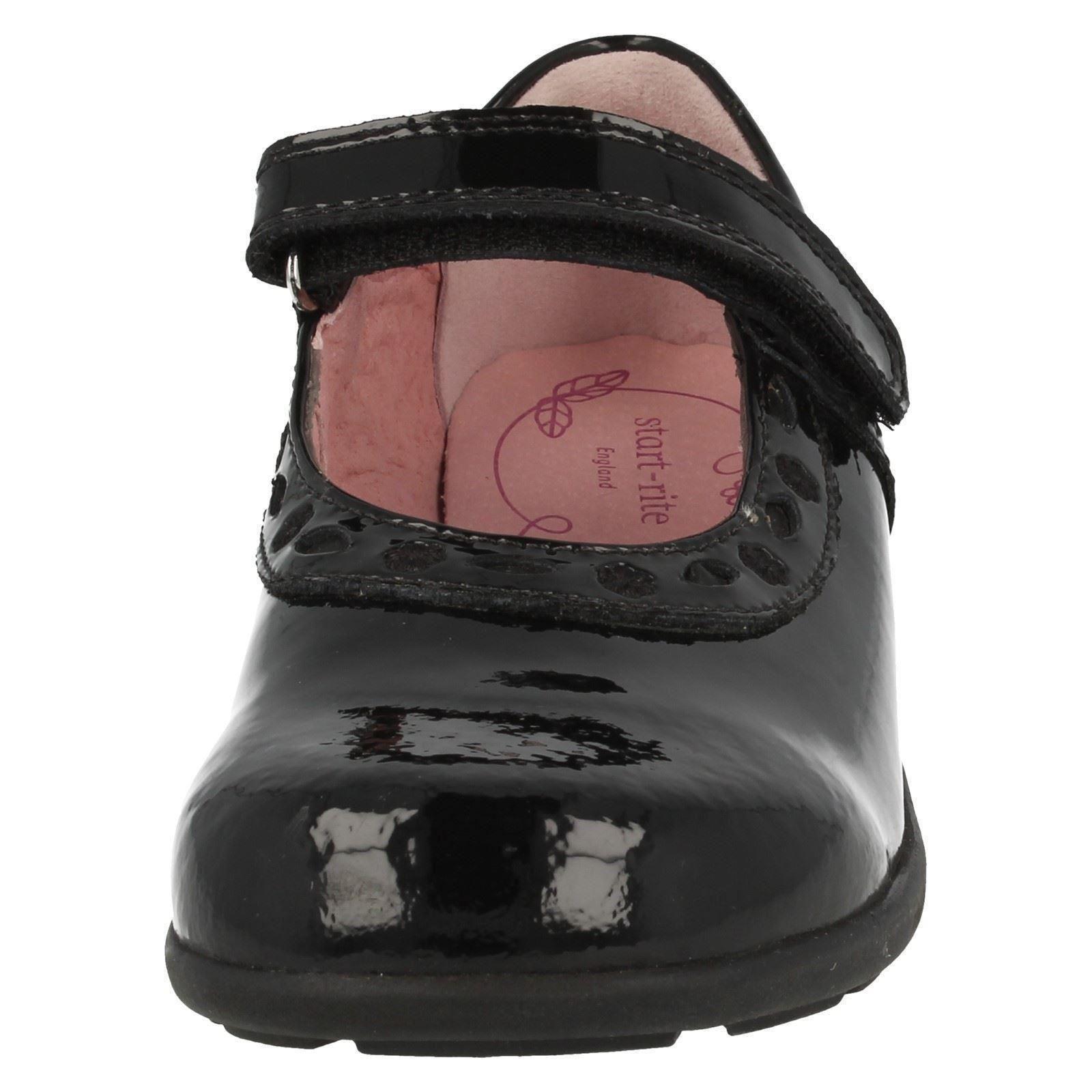 Chicas START Rite Mary Jane Zapatos Escolares, el estilo Tijeras-W