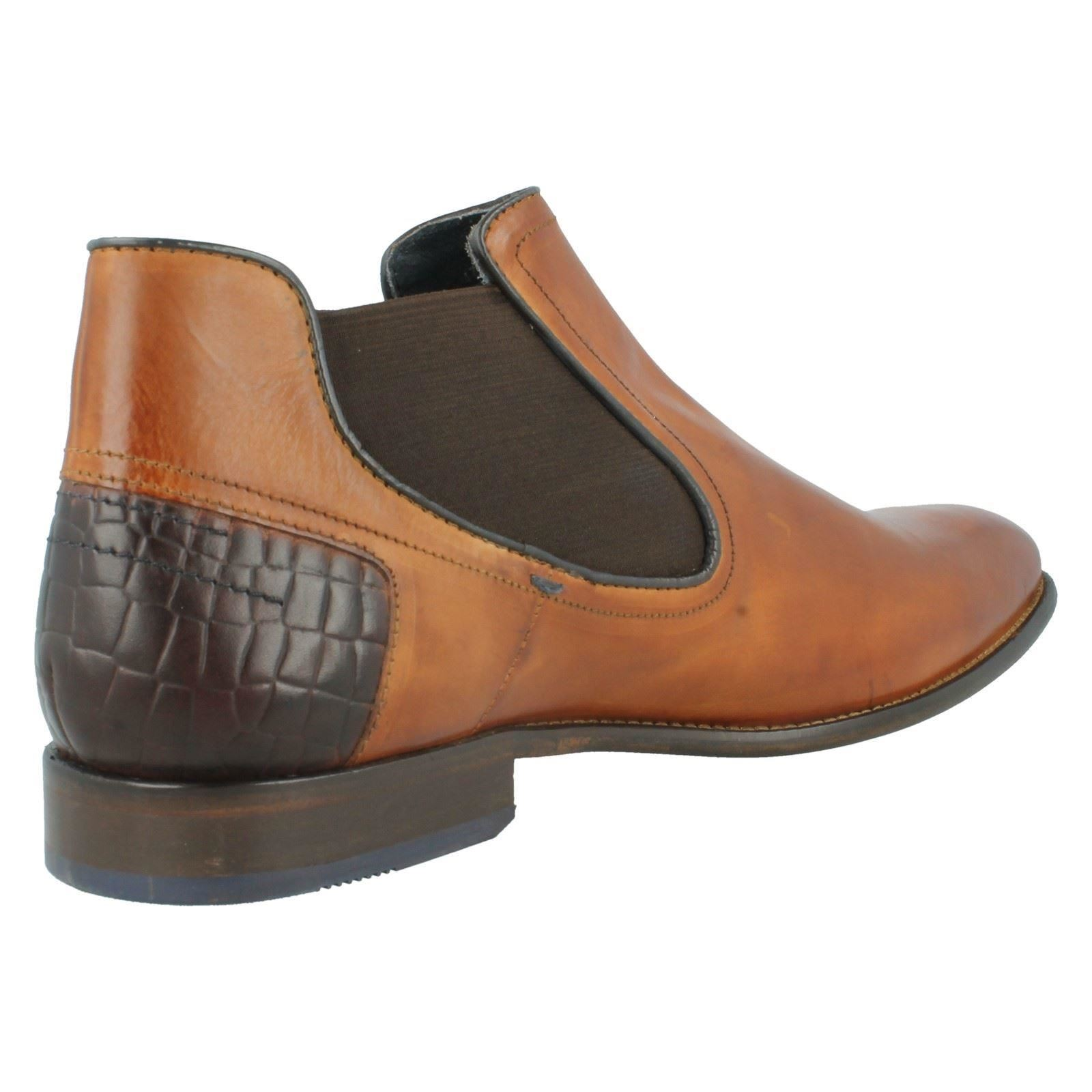 Men's Label Bugatti Bettino Smart Boots Label Men's ~ K e4049a