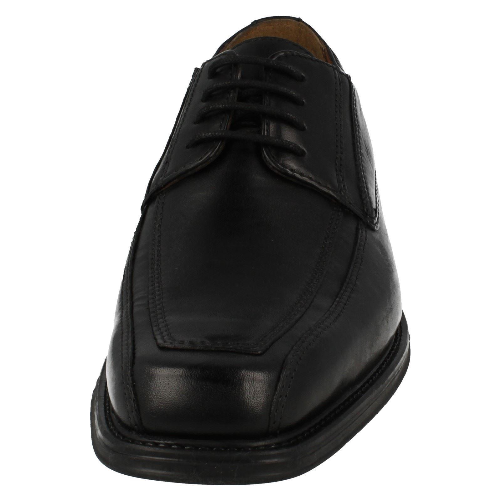 Para Hombre Clarks lazada lazada Clarks Zapatos De Cuero El Estilo-Driggs caminar b14706